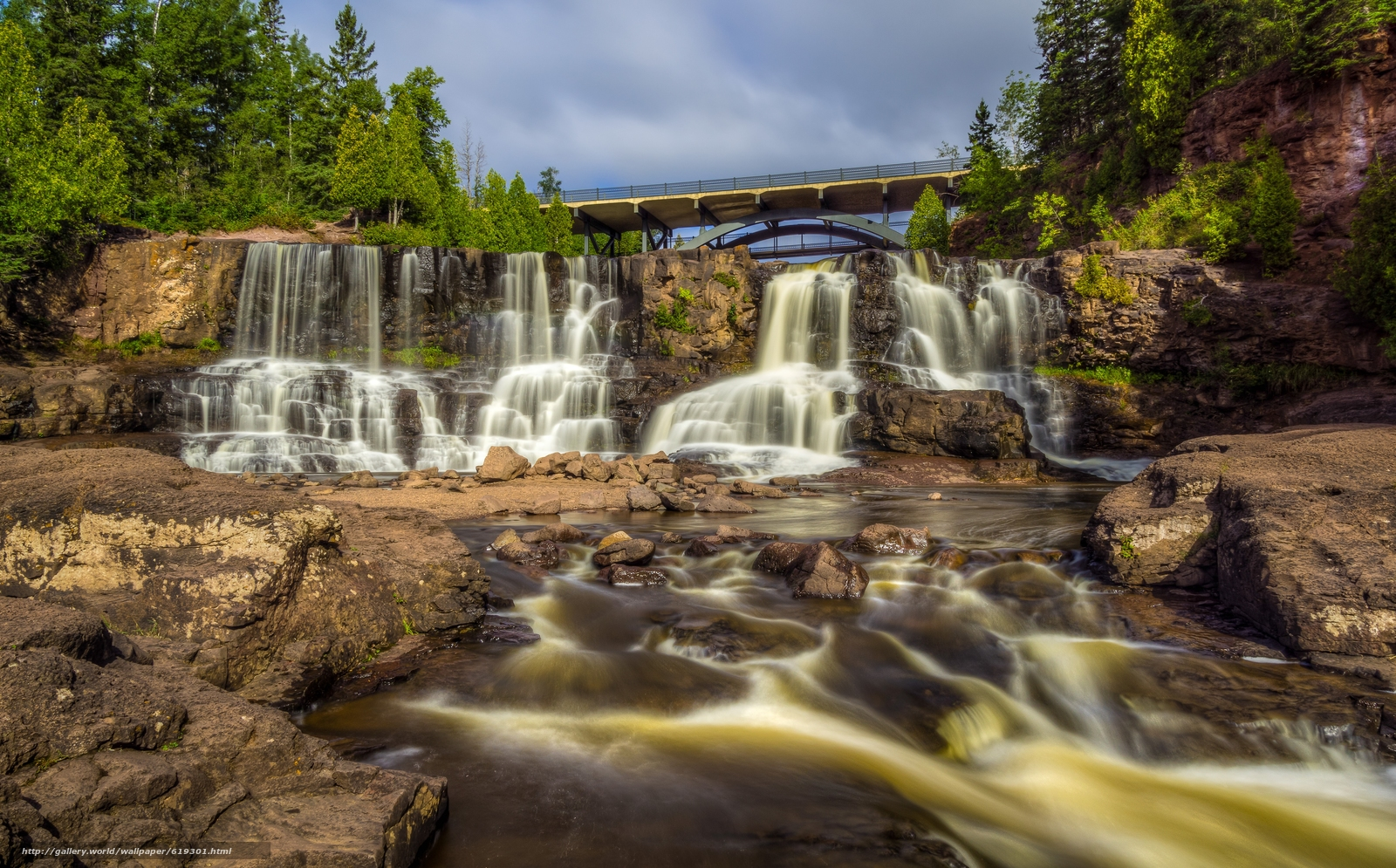 Image result for gooseberry falls state park
