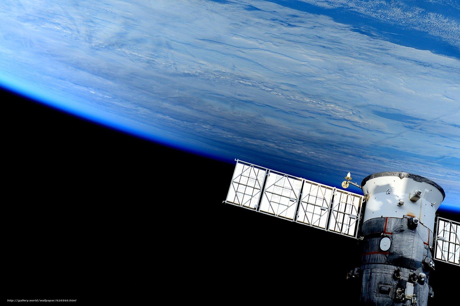 Скачать обои Земля,  космос,  МКС,  наука бесплатно для рабочего стола в разрешении 2767x1843 — картинка №620560