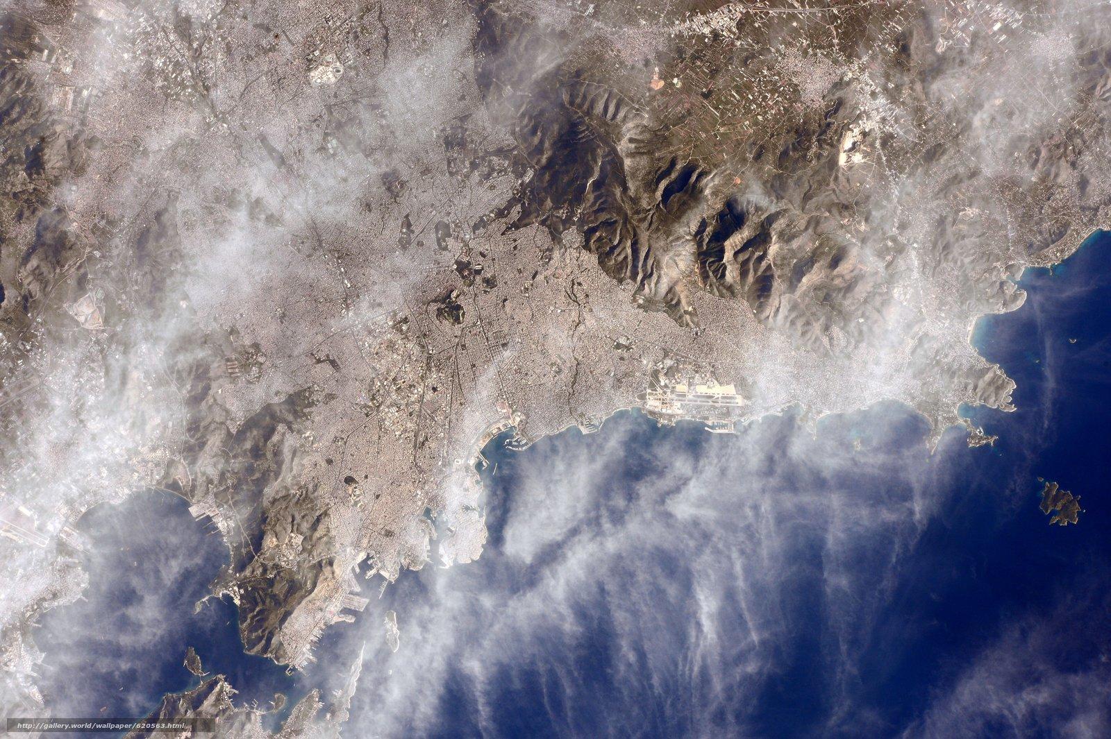 scaricare gli sfondi Atene,  Grecia,  città,  mare Sfondi gratis per la risoluzione del desktop 4928x3280 — immagine №620563