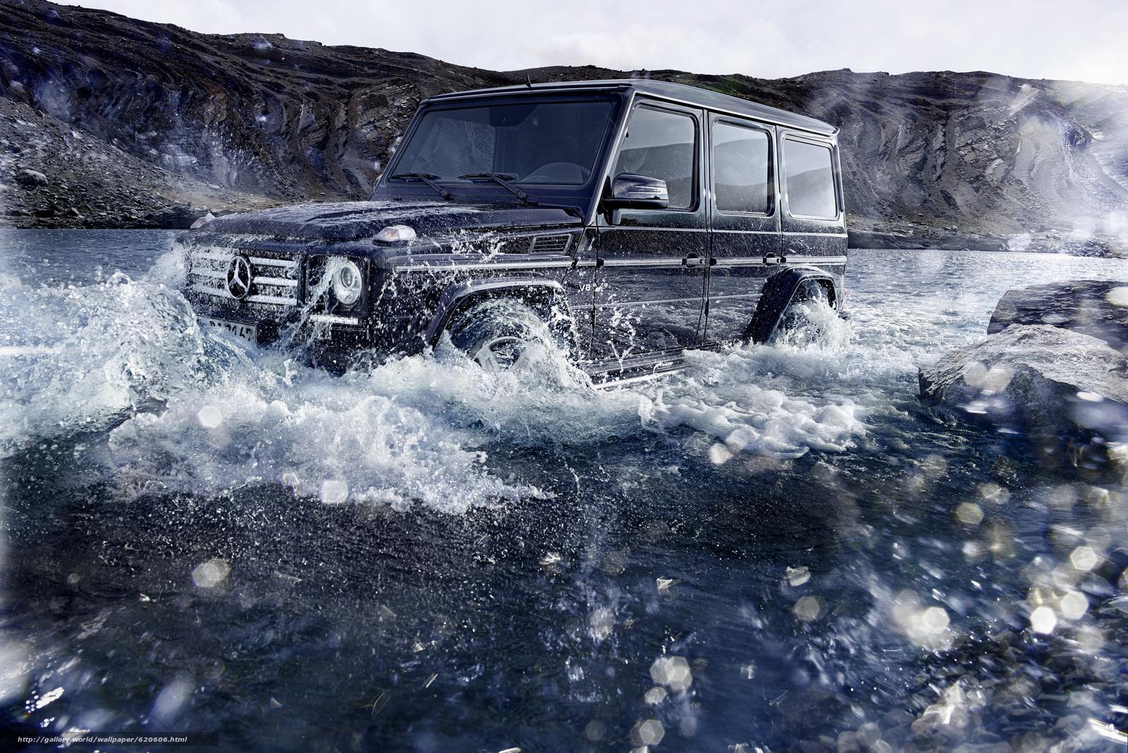 Descargar gratis Mercedes Benz,  Clase G,  Geländewagen Fondos de escritorio en la resolucin 4961x3312 — imagen №620606