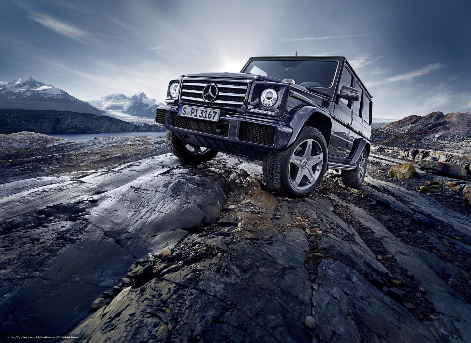 Скачать обои Mercedes-Benz,  G-Class,  Gelandewagen бесплатно для рабочего стола в разрешении 4961x3616 — картинка №620608