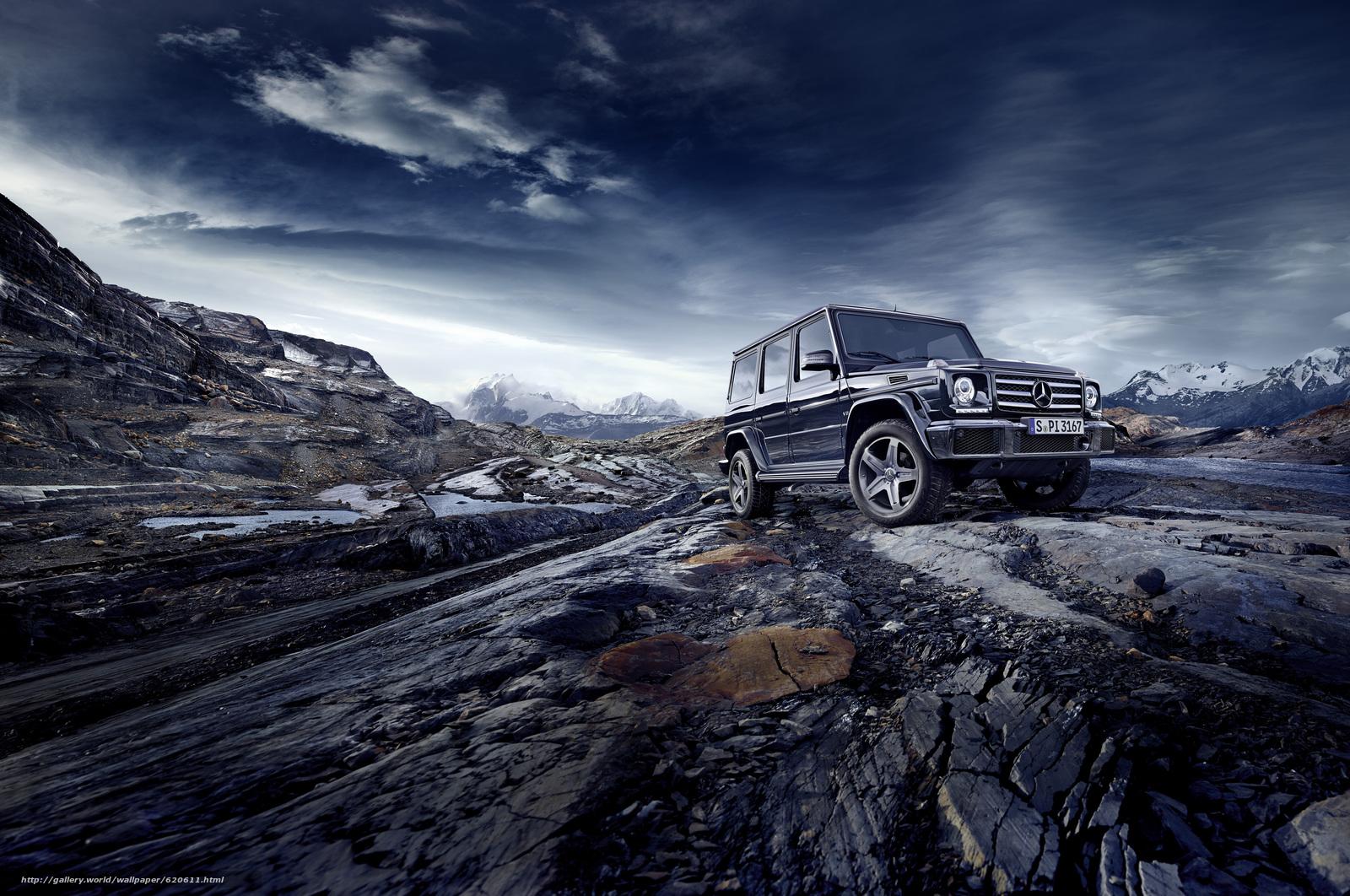Скачать обои Mercedes-Benz,  G-Class,  Gelandewagen бесплатно для рабочего стола в разрешении 4961x3292 — картинка №620611