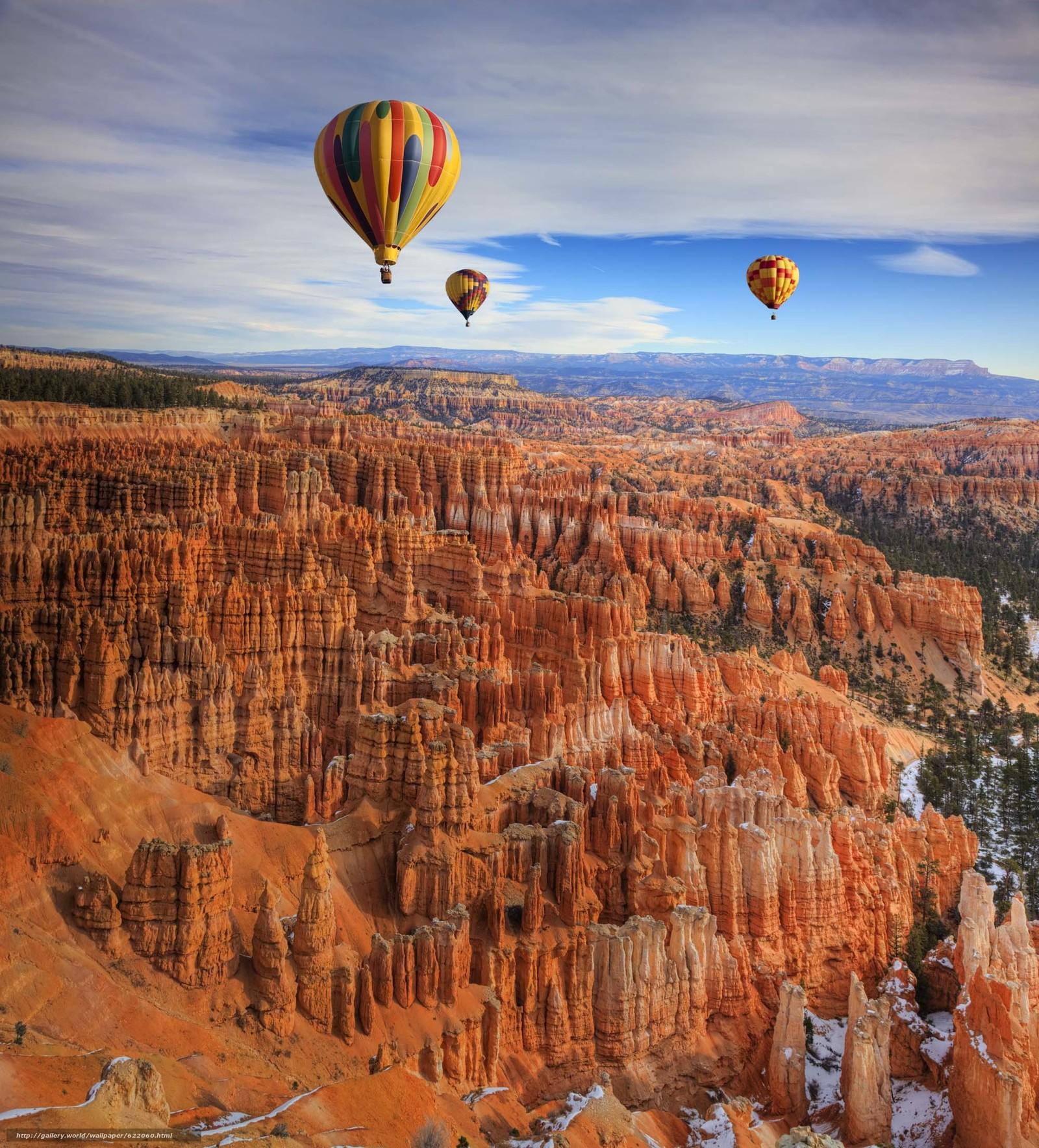 Скачать обои Bryce canyon,  горы,  скалы,  небо бесплатно для рабочего стола в разрешении 2000x2210 — картинка №622060