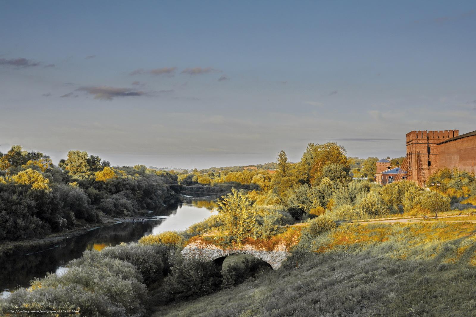 Скачать обои Смоленск,  Россия,  крепость,  стена бесплатно для рабочего стола в разрешении 6000x4000 — картинка №623481