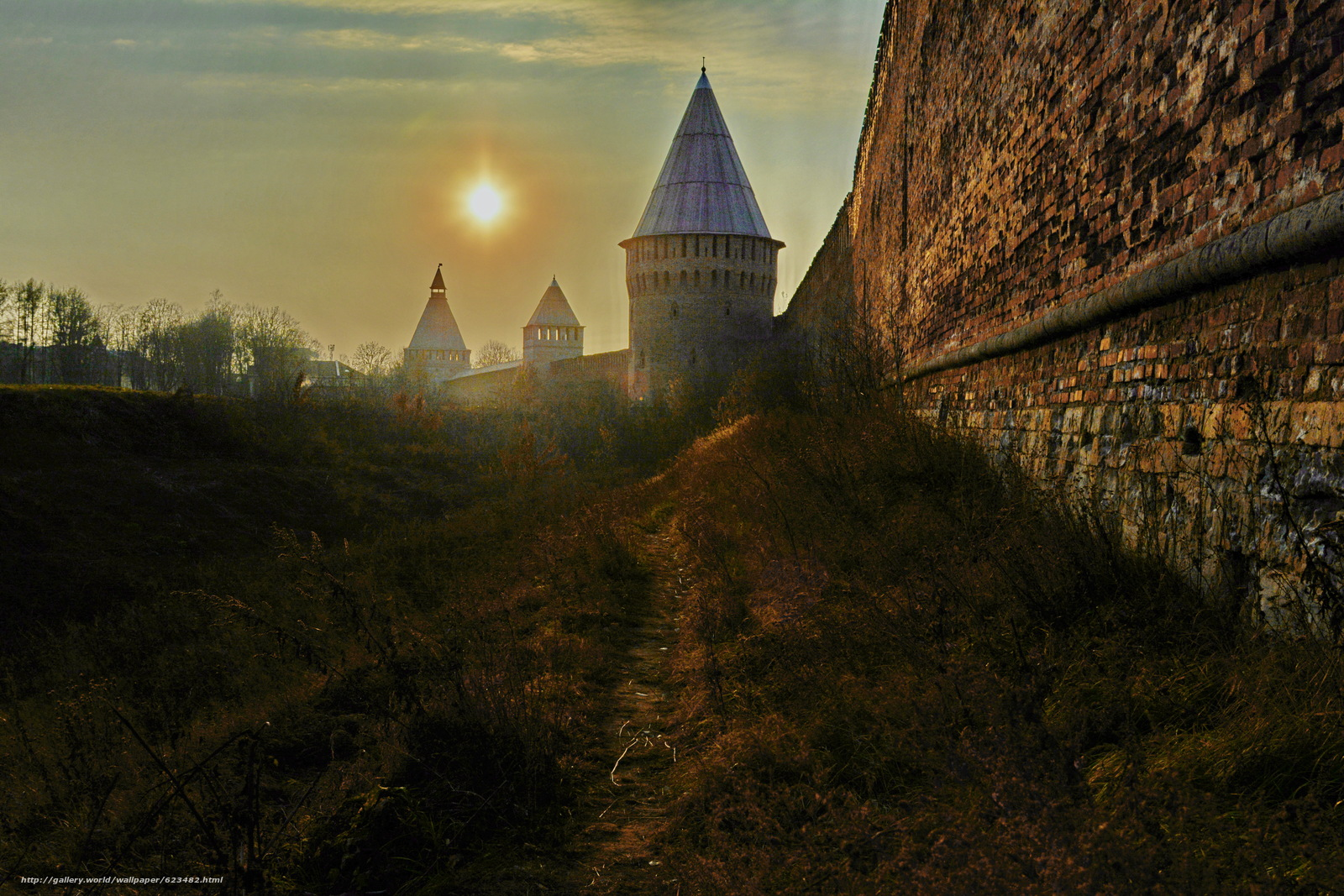 Download wallpaper Smolensk,  Russia,  fortress,  wall free desktop wallpaper in the resolution 6000x4000 — picture №623482