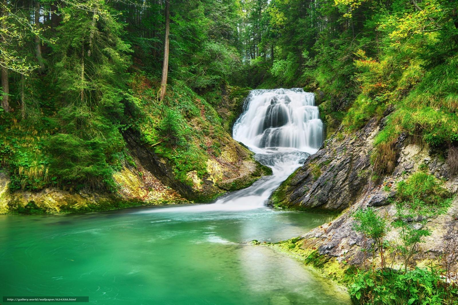 壁纸 风景 旅游 瀑布 山水 桌面 1600_1066