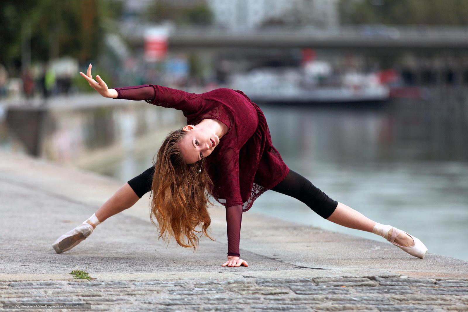 Download wallpaper Anastasiya,  ballerina,  dance,  pose free desktop wallpaper in the resolution 2048x1365 — picture №624360
