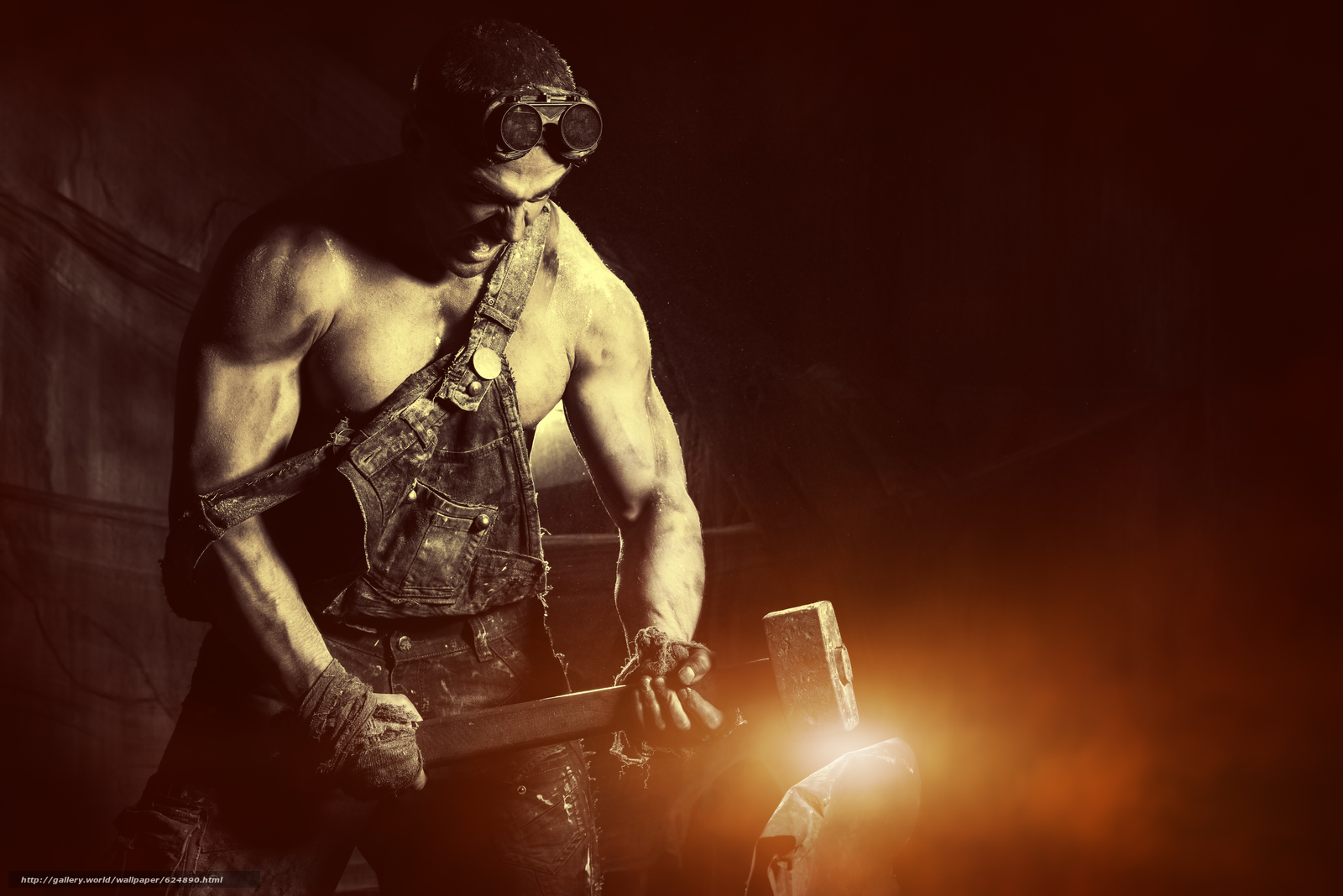 Download wallpaper guy, hunky, glasses, Sledgehammer free desktop wallpaper in the resolution 7360x4912 — picture №624890