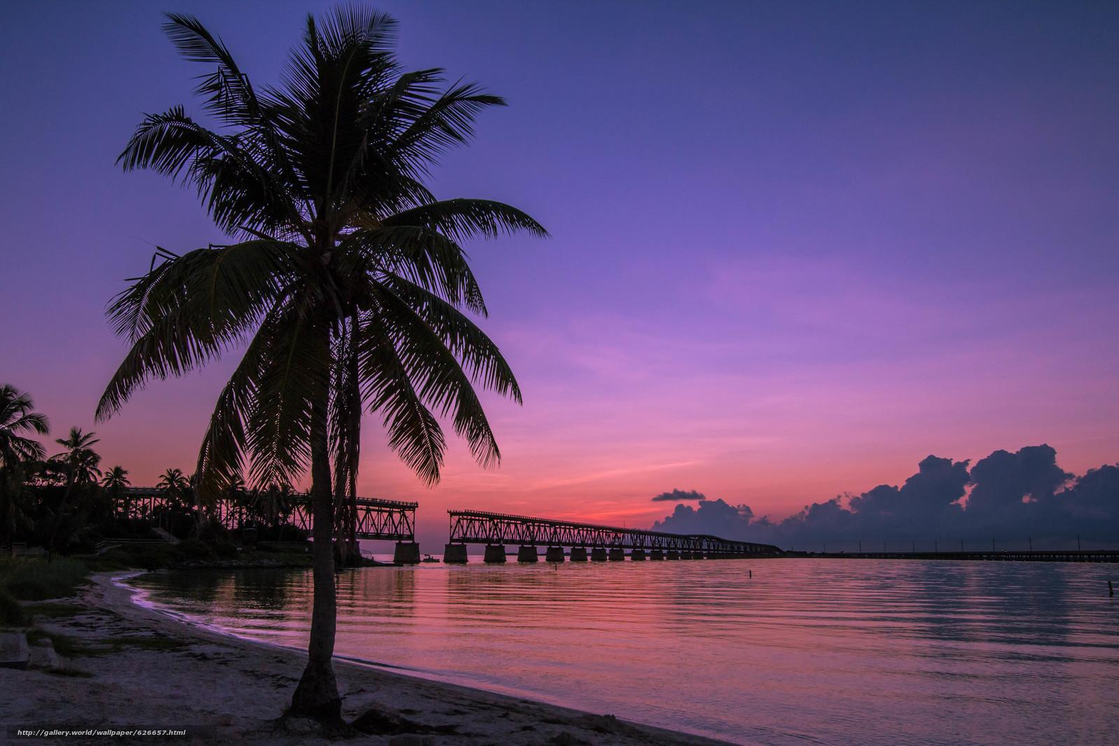 Скачать обои Bahia Honda State Park,  Old Bahia Honda Railroad Bridge,  Баия Хонда Парк,  штат Флорида бесплатно для рабочего стола в разрешении 4831x3221 — картинка №626657