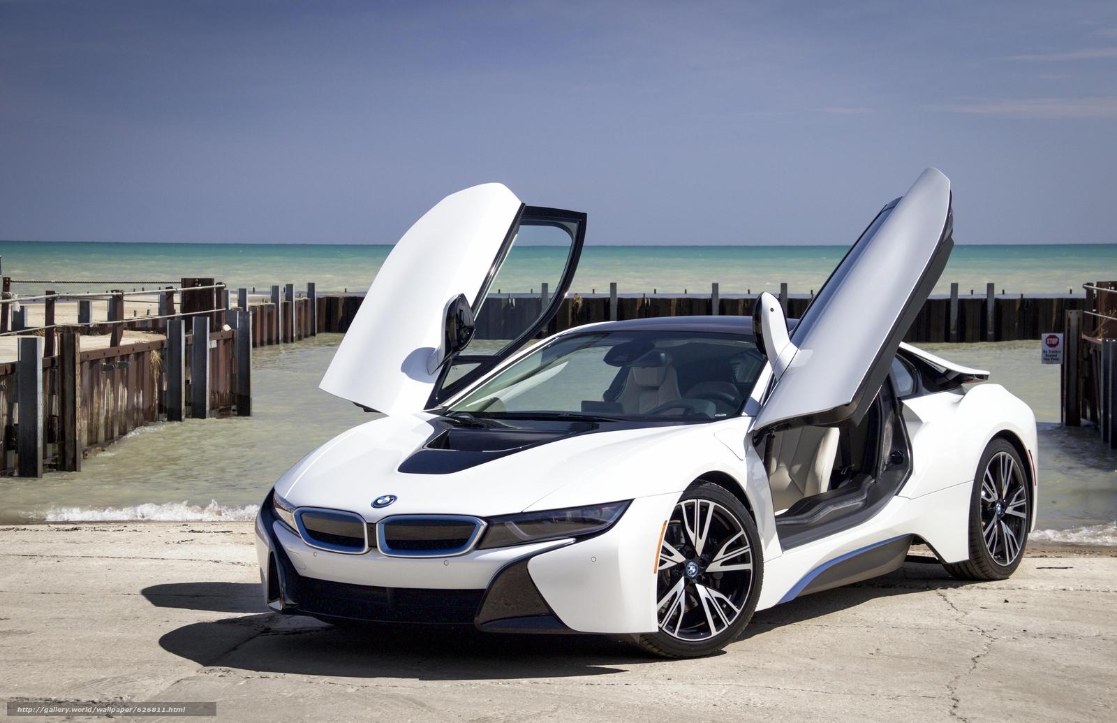 Скачать обои BMW i8,  sports car,  спорткар,  купе бесплатно для рабочего стола в разрешении 5184x3352 — картинка №626811