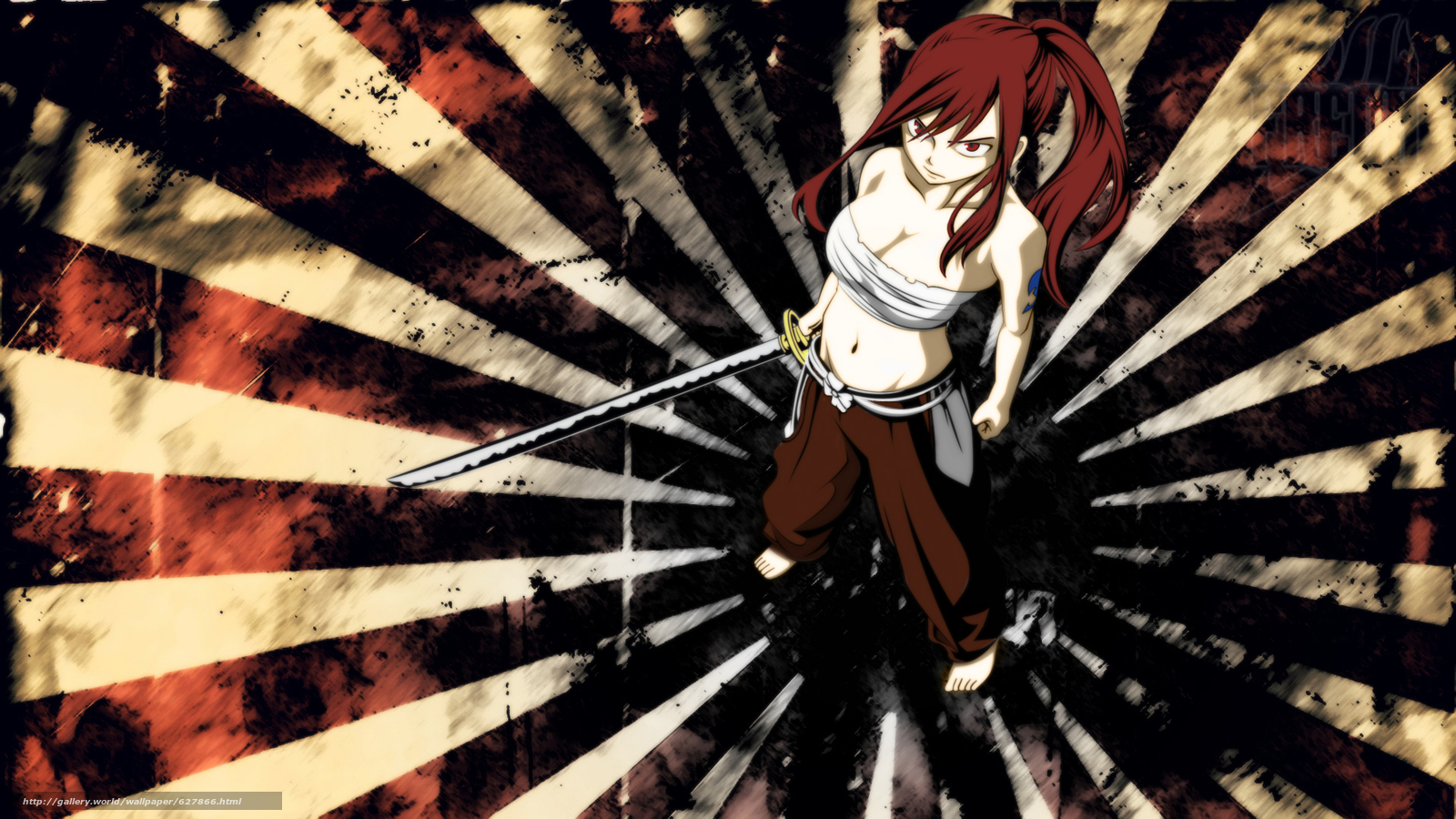 Download wallpaper Fairy Tail,  ft,  Fairy Tail,  Erza free desktop wallpaper in the resolution 1920x1080 — picture №627866
