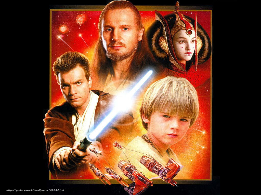 Download Wallpaper Star Wars Episode 1 The Phantom Menace Star Wars Episode I The Phantom Menace Film Movies Free Desktop Wallpaper In The Resolution 1024x768 Picture 6285