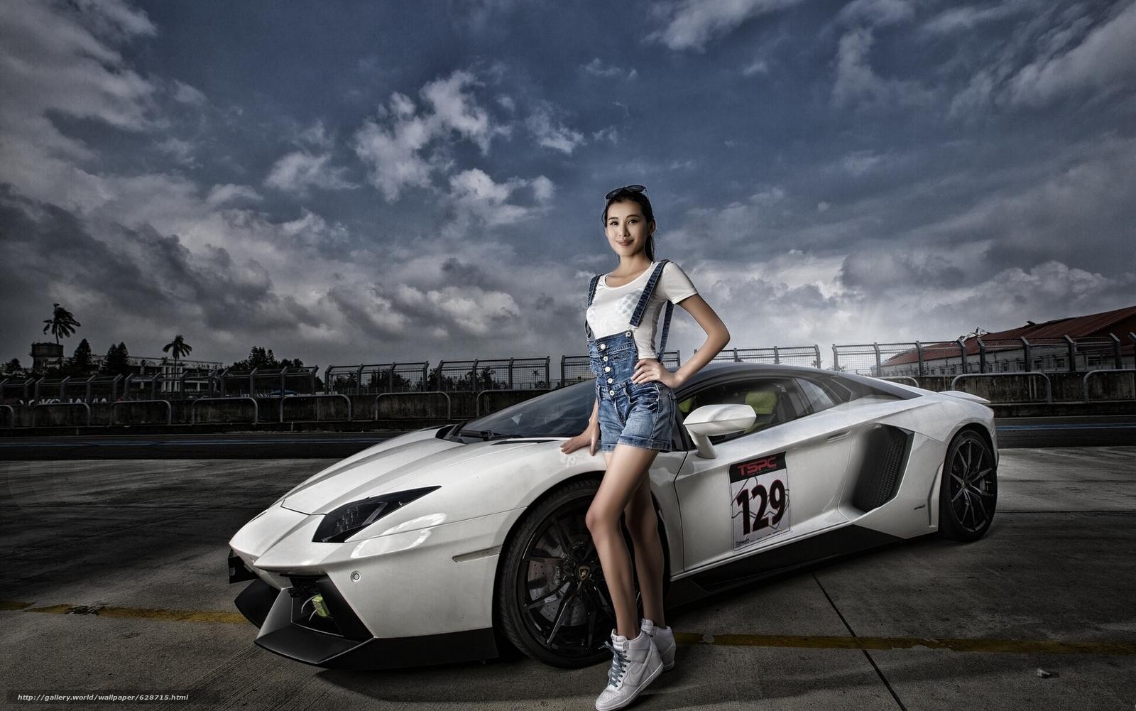 Скачать обои Lamborghini Aventador LP 700-4,  Lamborghini Aventador,  Lamborghini,  Aventador бесплатно для рабочего стола в разрешении 1920x1201 — картинка №628715