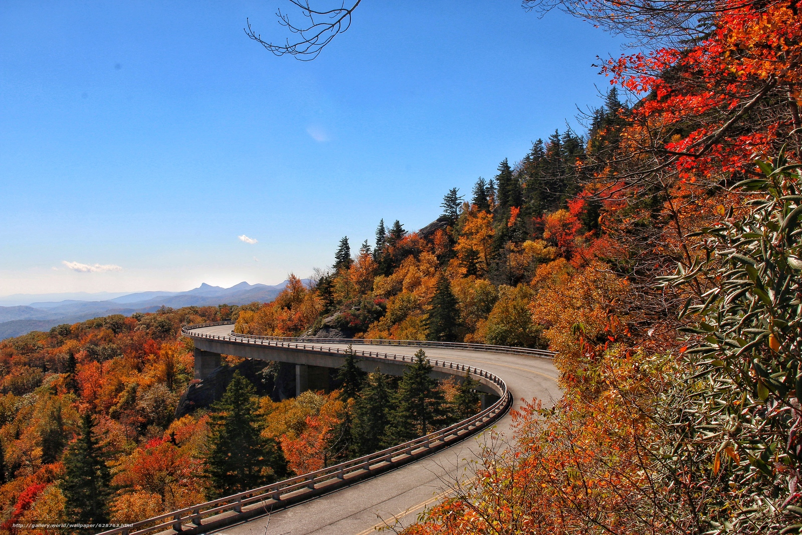 blue ridge mountains fall wallpaper - photo #25