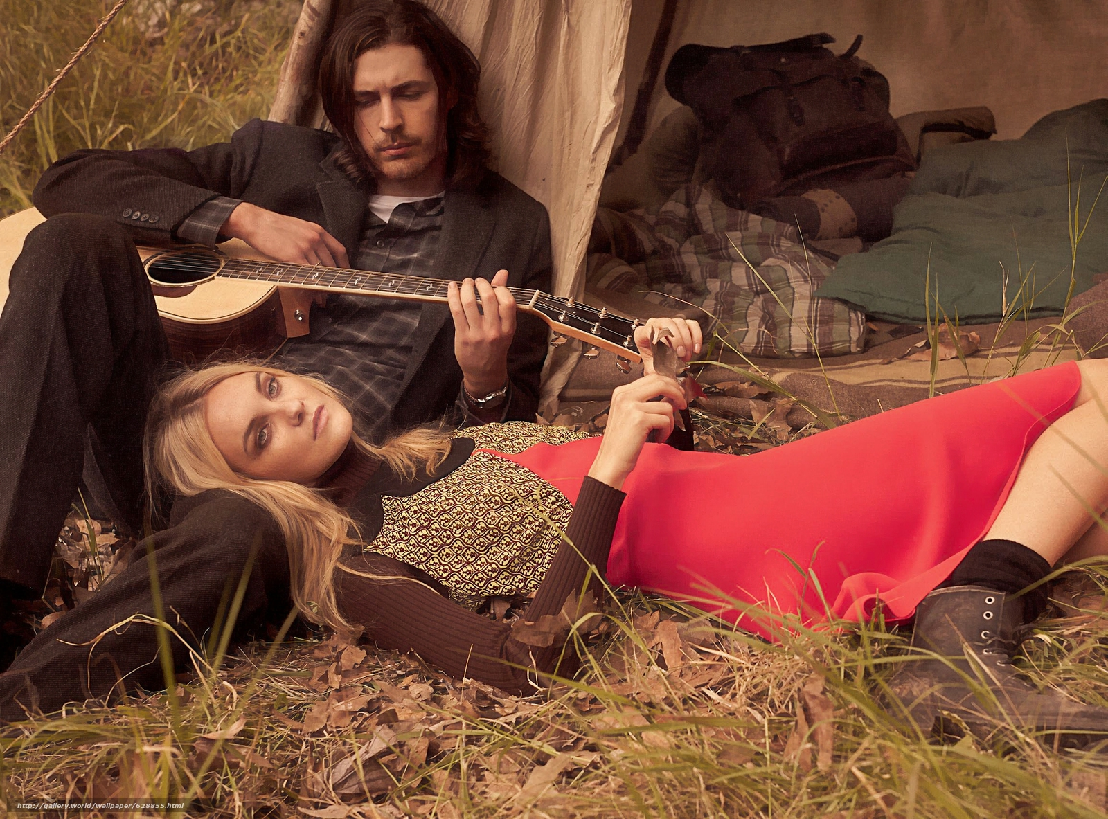 Download wallpaper Hozier,  Caroline Trentini,  musician,  model free desktop wallpaper in the resolution 2311x1708 — picture №628855