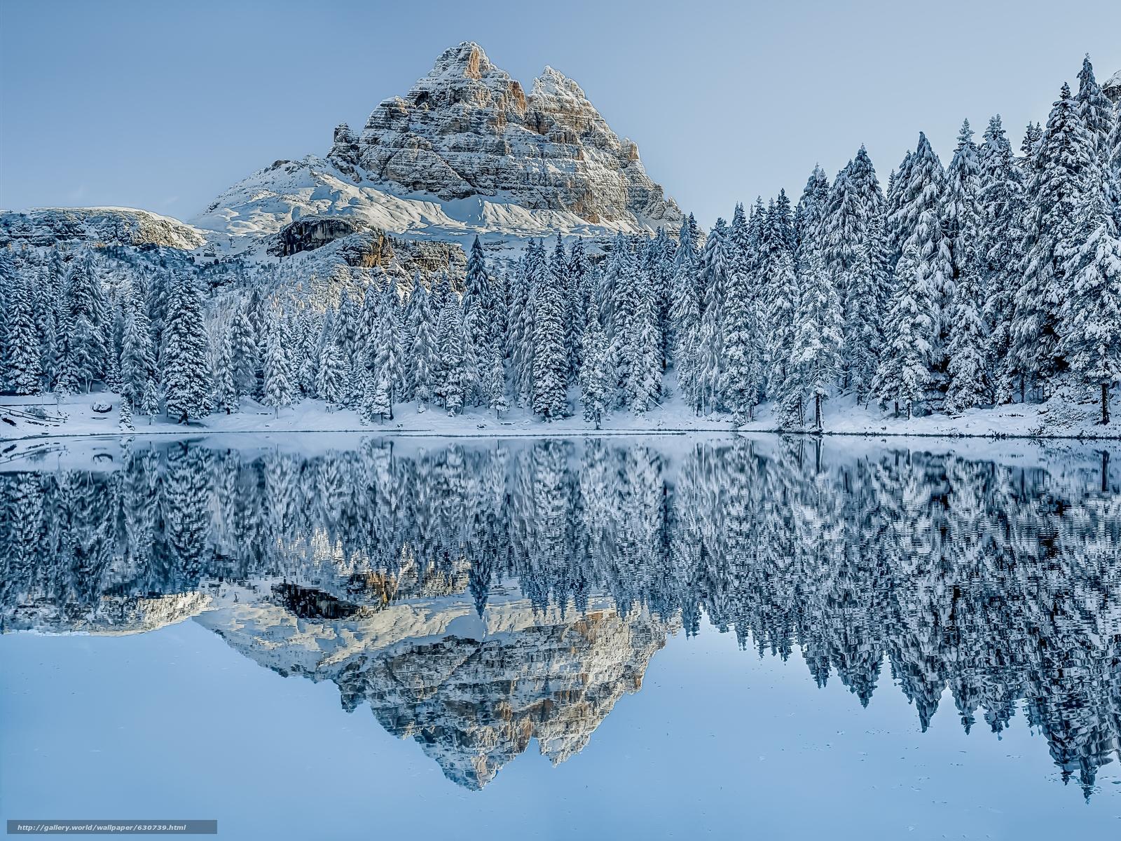 Scaricare Gli Sfondi Italia Dolomiti Lago Montagne Sfondi Gratis
