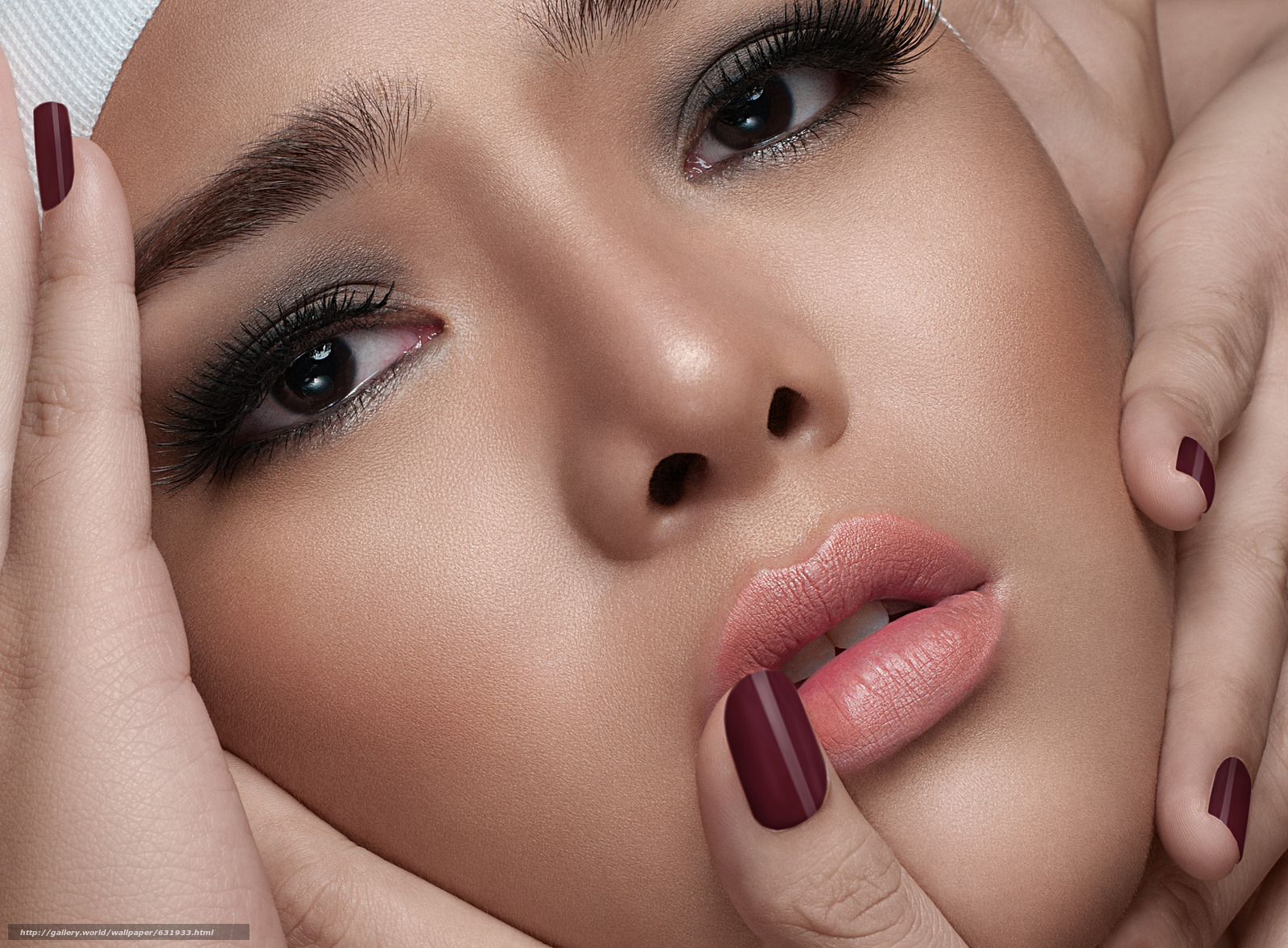 Скачать обои Ramonne Rodriguez,  лицо,  взгляд,  макияж бесплатно для рабочего стола в разрешении 2048x1508 — картинка №631933