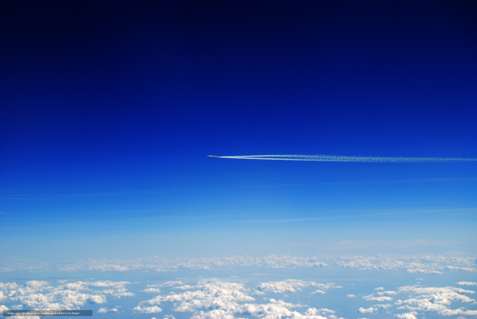 Download wallpaper sky,  clouds,  plane,  landscape free desktop wallpaper in the resolution 2048x1370 — picture №632113