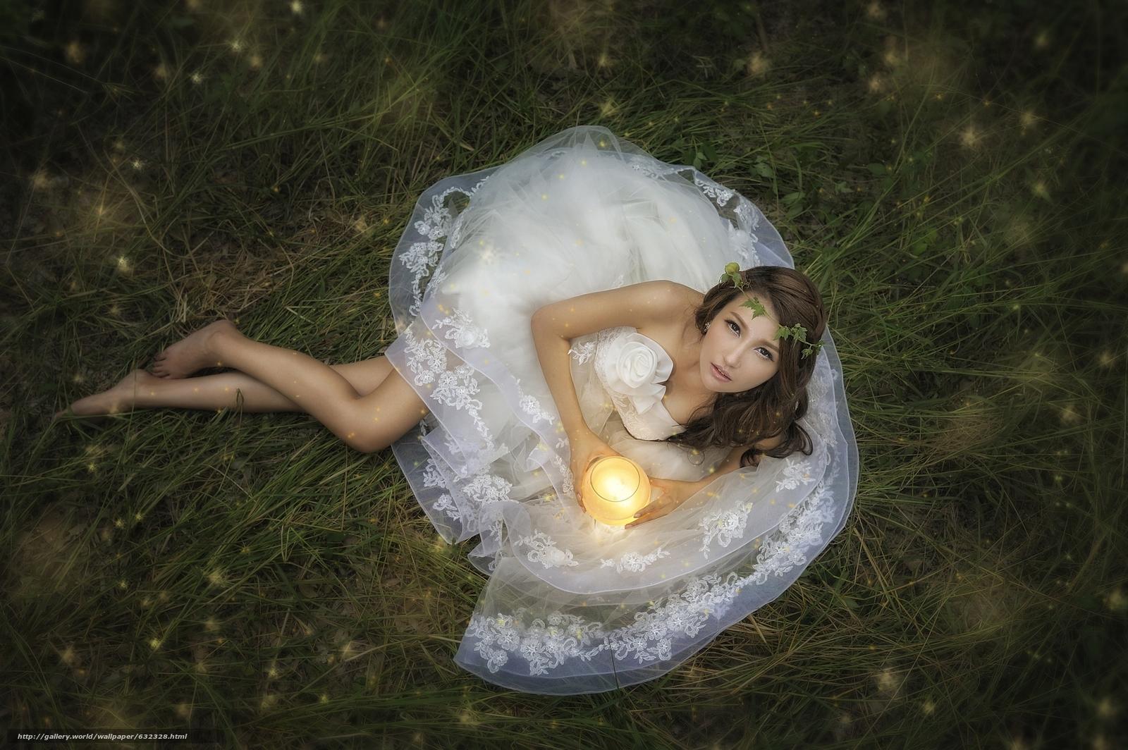 scaricare gli sfondi Asian,  sposa,  Abito da sposa,  vestire Sfondi gratis per la risoluzione del desktop 2048x1362 — immagine №632328