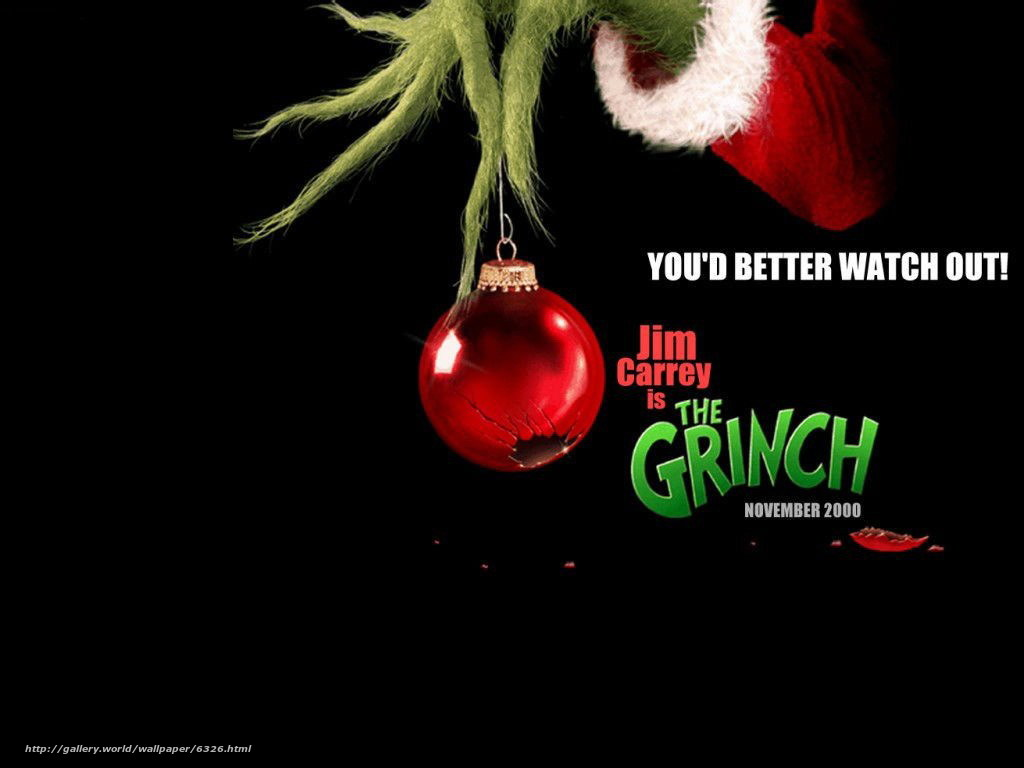 Download wallpaper Grinch - the Grinch Stole Christmas,  How the Grinch Stole Christmas,  film,  movies free desktop wallpaper in the resolution 1024x768 — picture №6326