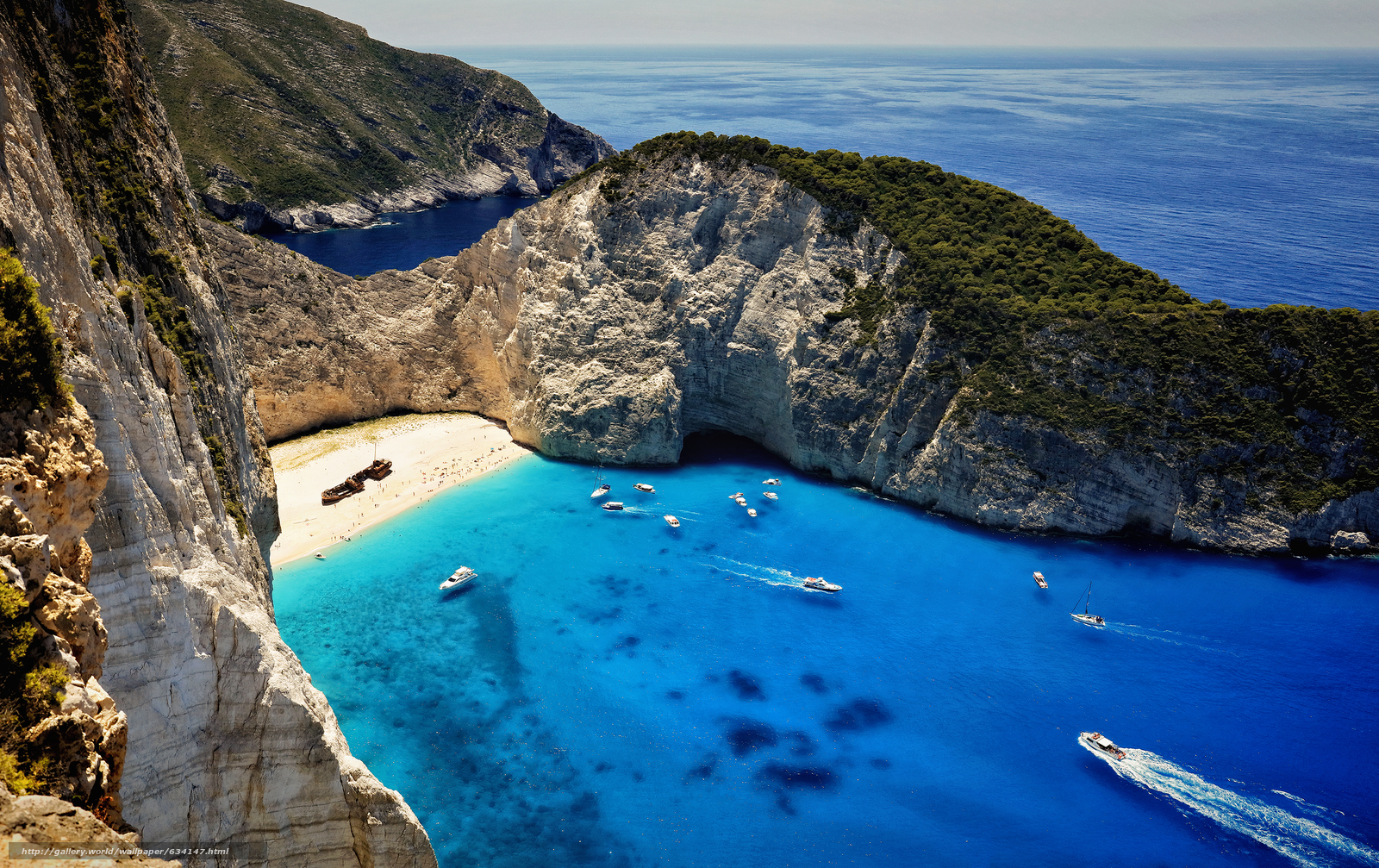 Download Wallpaper Shipwreck Navagio Beach Zakynthos Free Desktop In The Resolution 2975x1872 Picture No634147
