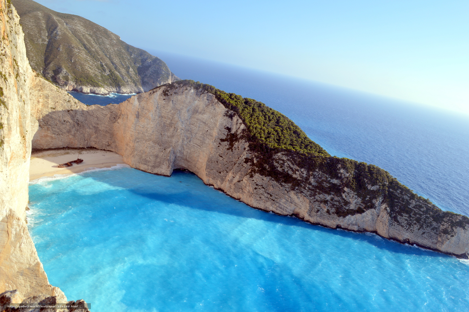 Download Wallpaper Shipwreck Navagio Beach Zakynthos Free Desktop In The Resolution 6016x4000 Picture No634148