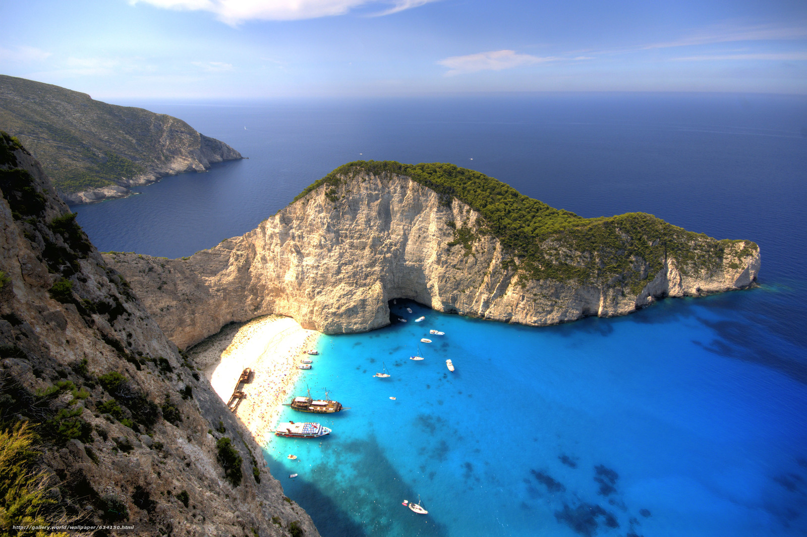 Download Wallpaper Shipwreck Navagio Beach Zakynthos Free Desktop In The Resolution 4310x2868 Picture No634150