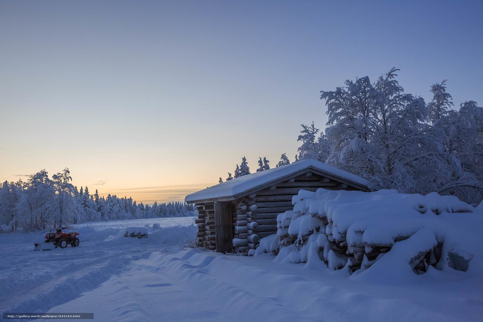 Tlcharger Fond d'ecran hiver,  neige,  maison,  arbres Fonds d'ecran gratuits pour votre rsolution du bureau 5760x3840 — image №634154