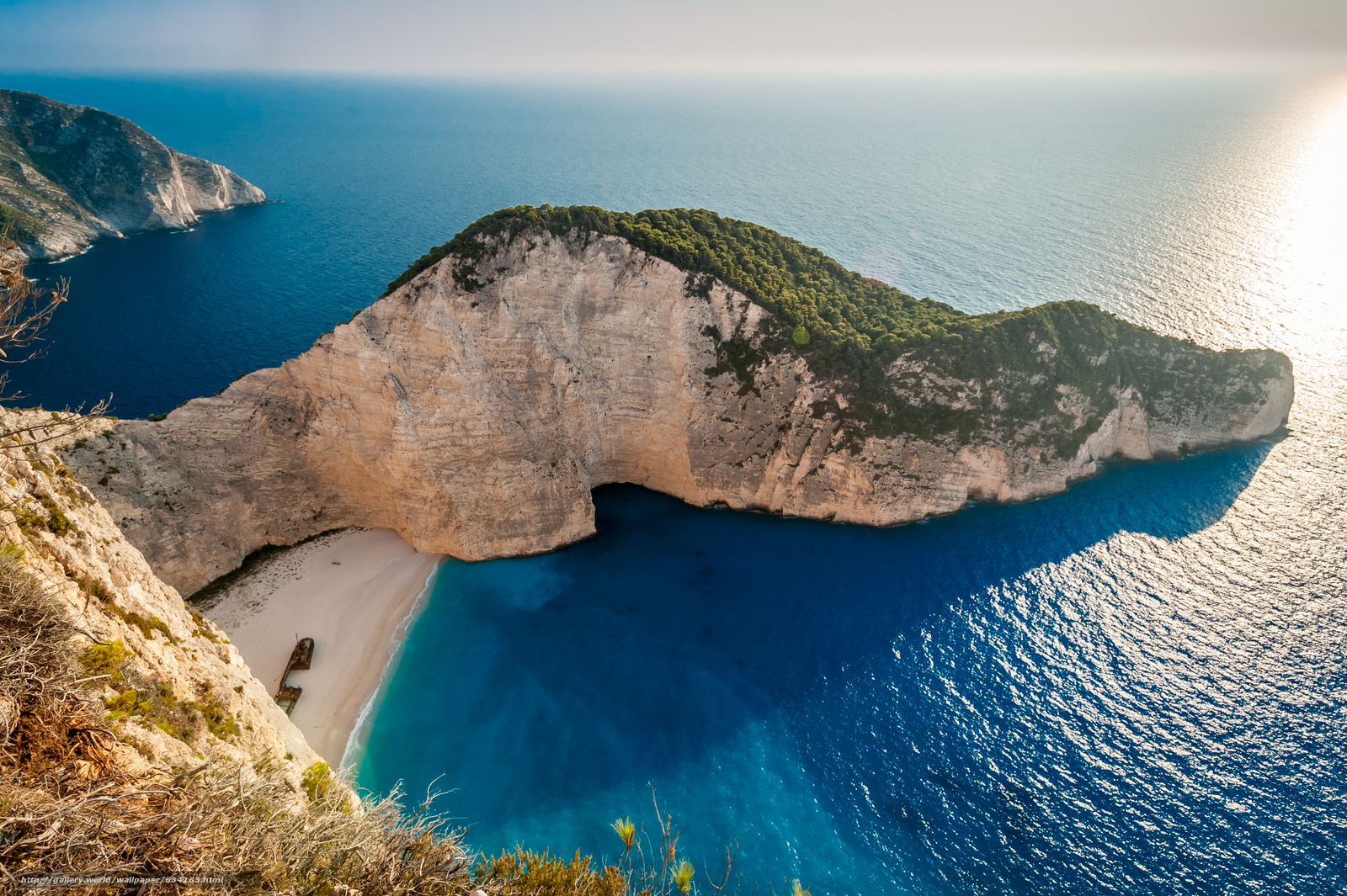 Download Wallpaper Shipwreck Navagio Beach Zakynthos Free Desktop In The Resolution 3789x2521 Picture No634163