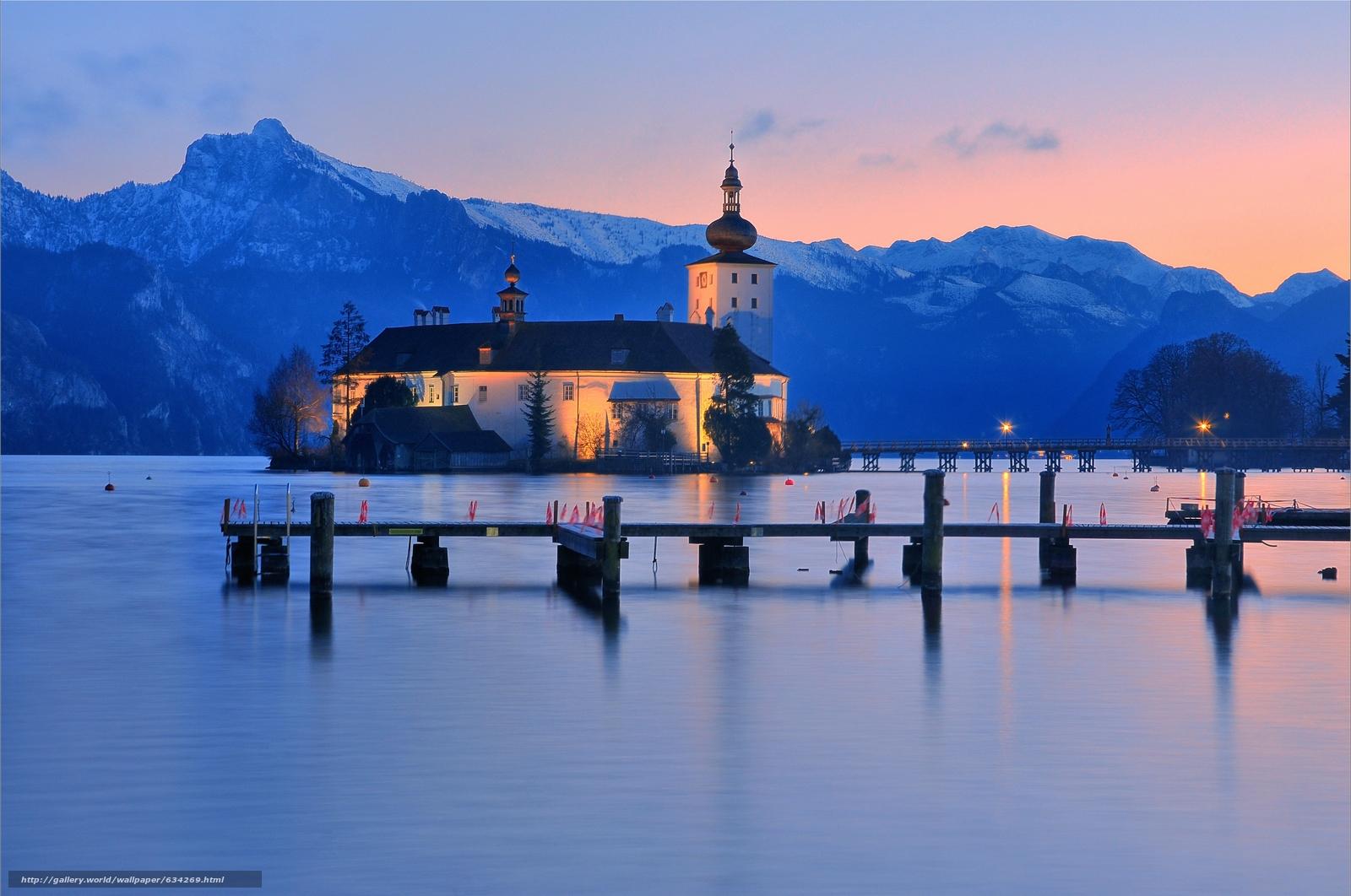 下载壁纸 格蒙登,  特劳恩湖,  奥地利 免费为您的桌面分辨率的壁纸 4292x2848 — 图片 №634269