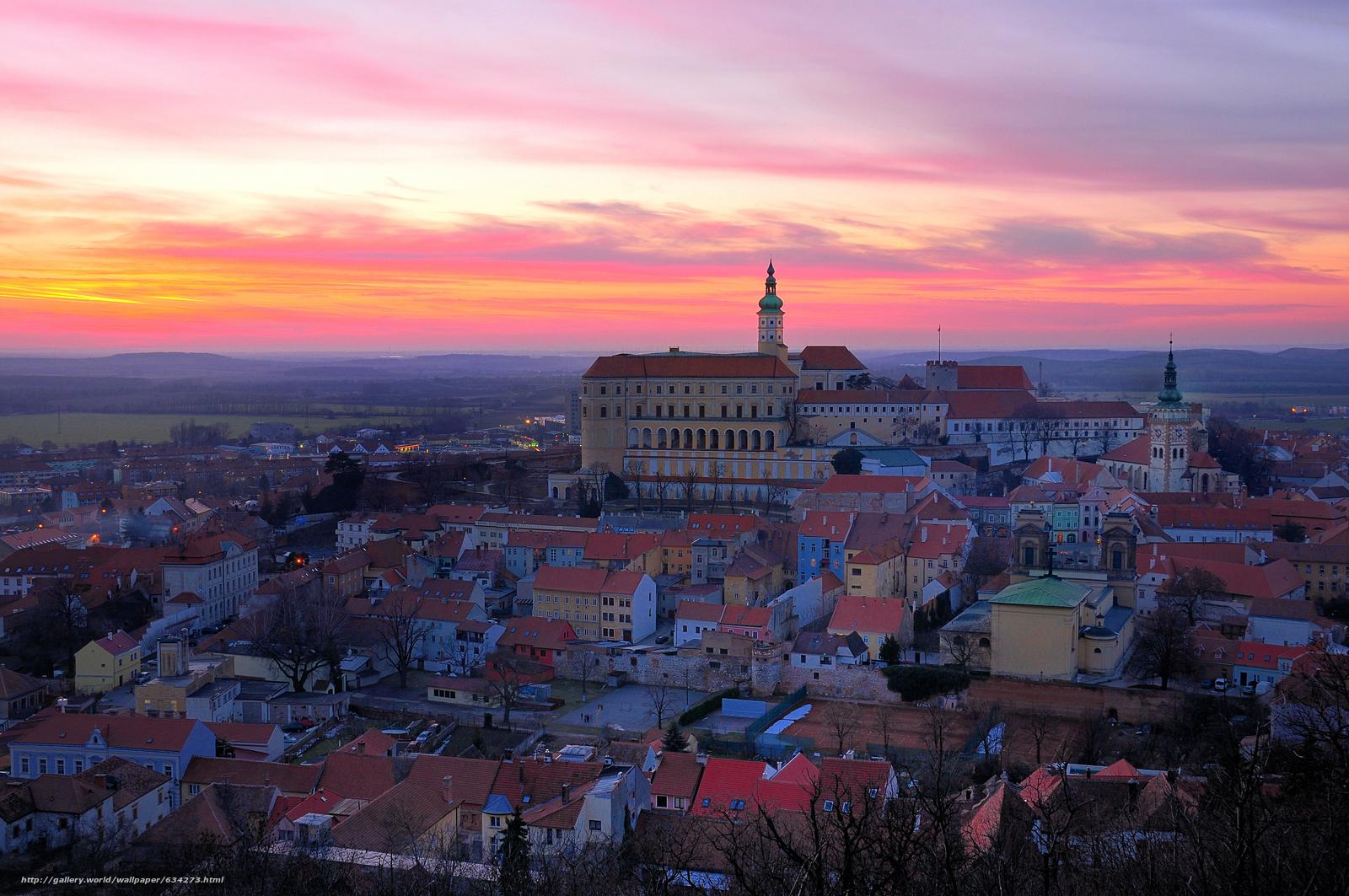 scaricare gli sfondi Mikulov,  Repubblica Ceca,  città Sfondi gratis per la risoluzione del desktop 4288x2848 — immagine №634273