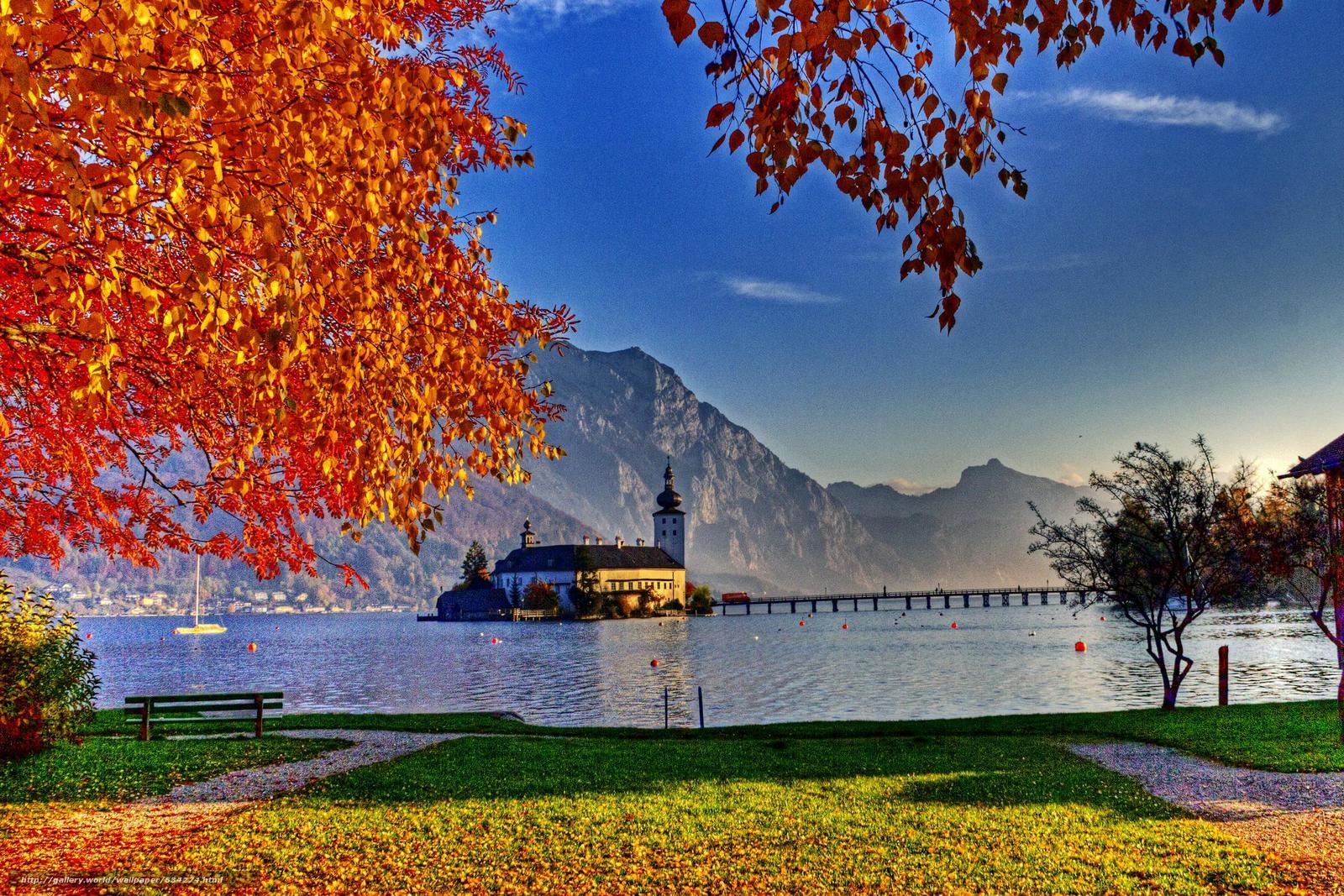 下载壁纸 格蒙登,  特劳恩湖,  奥地利 免费为您的桌面分辨率的壁纸 2480x1654 — 图片 №634274
