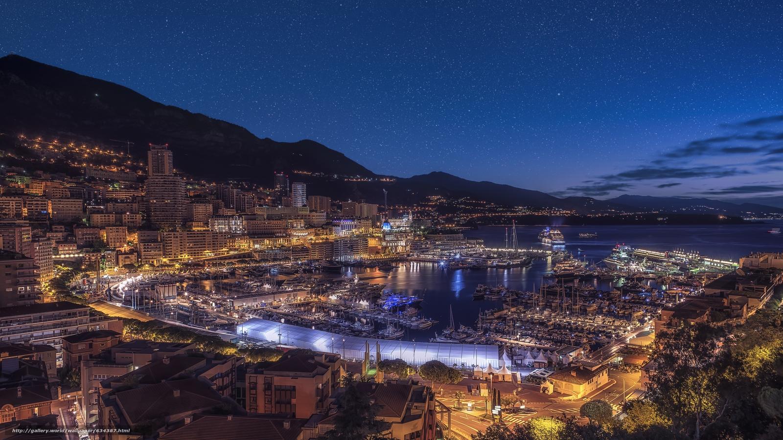 scaricare gli sfondi Monaco,  Monte Carlo,  tramonto Sfondi gratis per la risoluzione del desktop 7360x4140 — immagine №634387