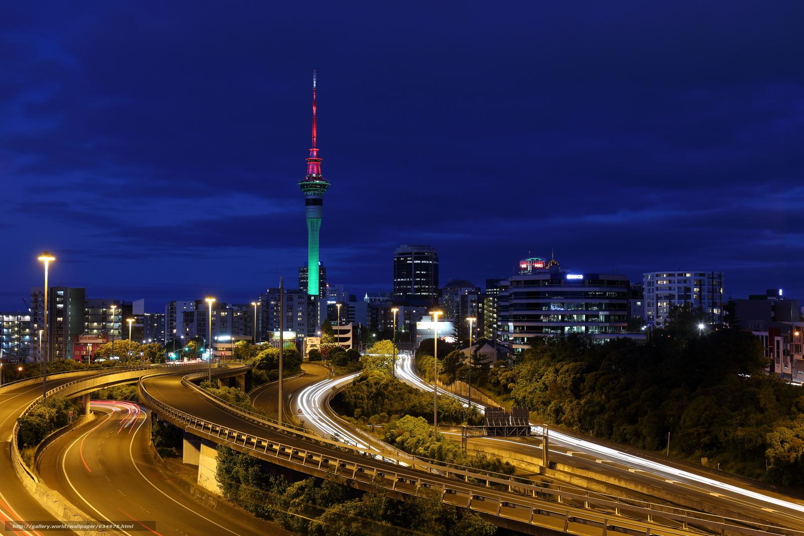 Скачать обои Auckland,  New Zealand,  город бесплатно для рабочего стола в разрешении 2700x1800 — картинка №634975