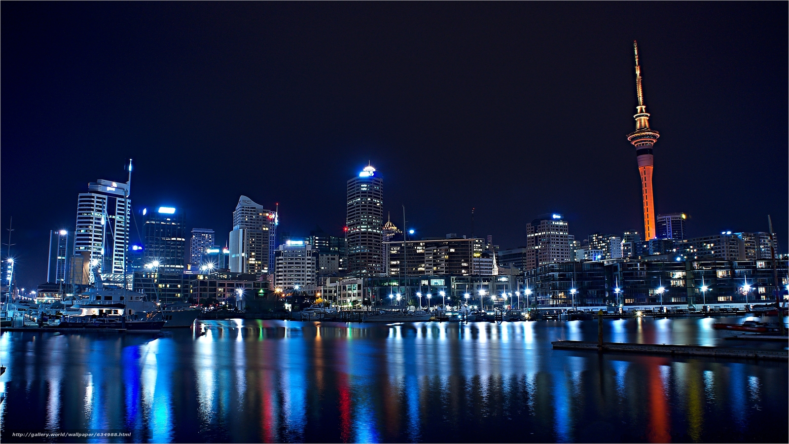 Download wallpaper Auckland,  New Zealand,  city free desktop wallpaper in the resolution 4916x2764 — picture №634988