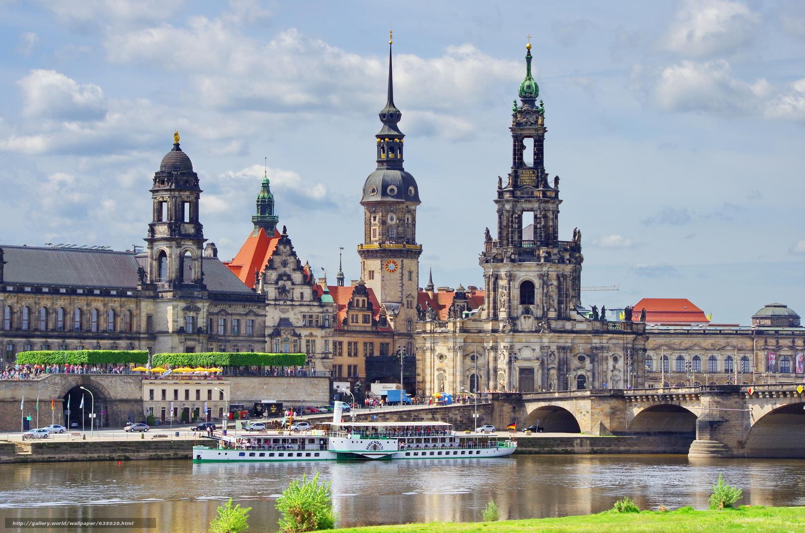 Download wallpaper Dresden,  Germany,  Saxony free desktop wallpaper in the resolution 4928x3264 — picture №635020