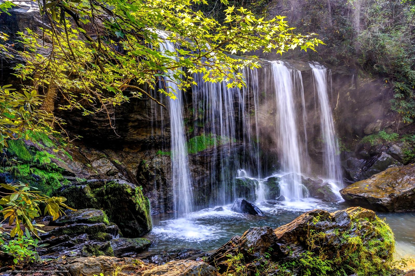 下载壁纸 县,  SC,  瀑布,  岩石 免费为您的桌面分辨率的壁纸 4256x2832 — 图片 №636815