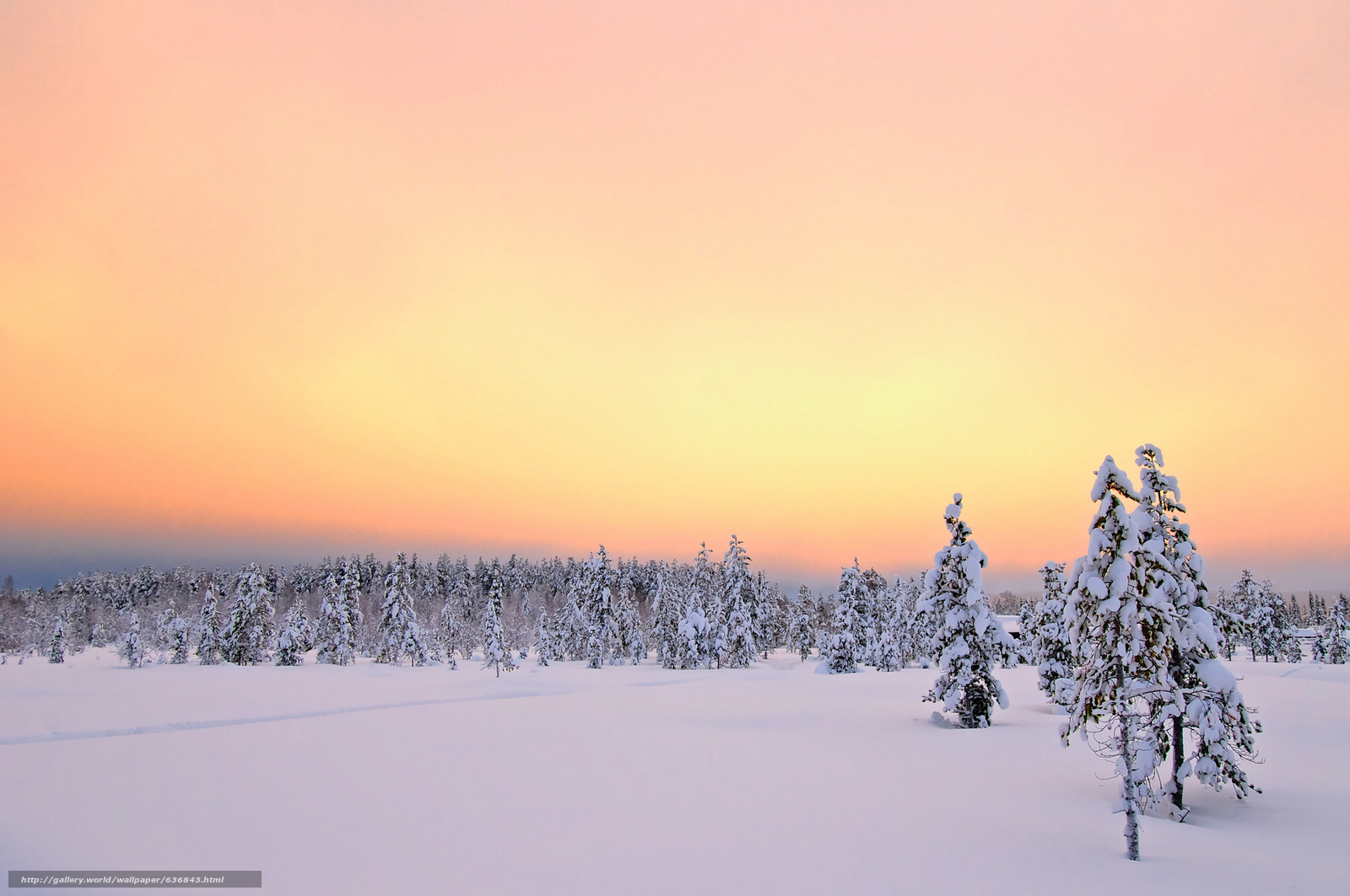 Download wallpaper sunrise,  Äkäslompolo,  Lapland,  sunset free desktop wallpaper in the resolution 2048x1361 — picture №636843