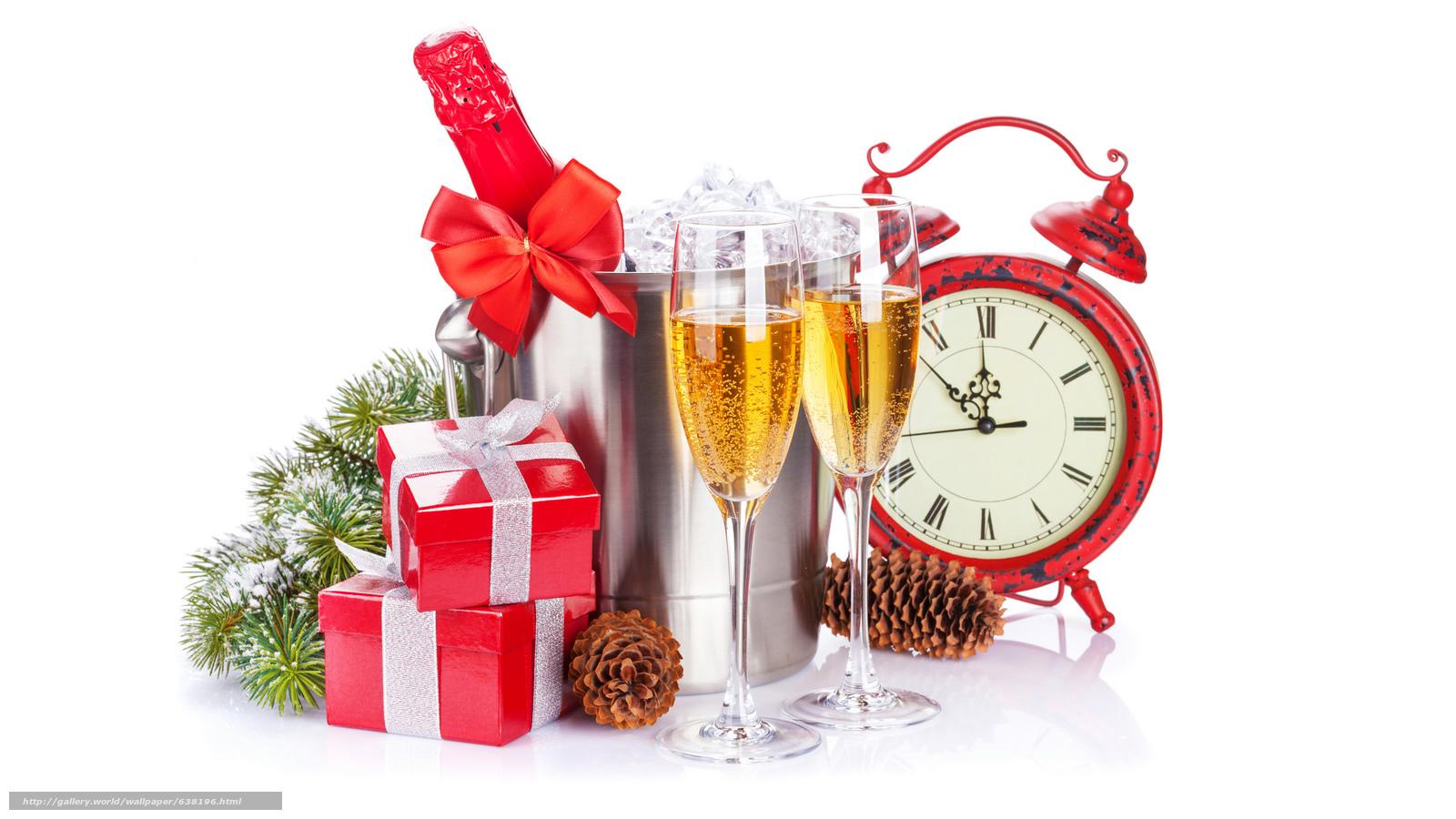 下载壁纸 节日,  圣诞壁纸,  新年好 免费为您的桌面分辨率的壁纸 2048x1152 — 图片 №638196