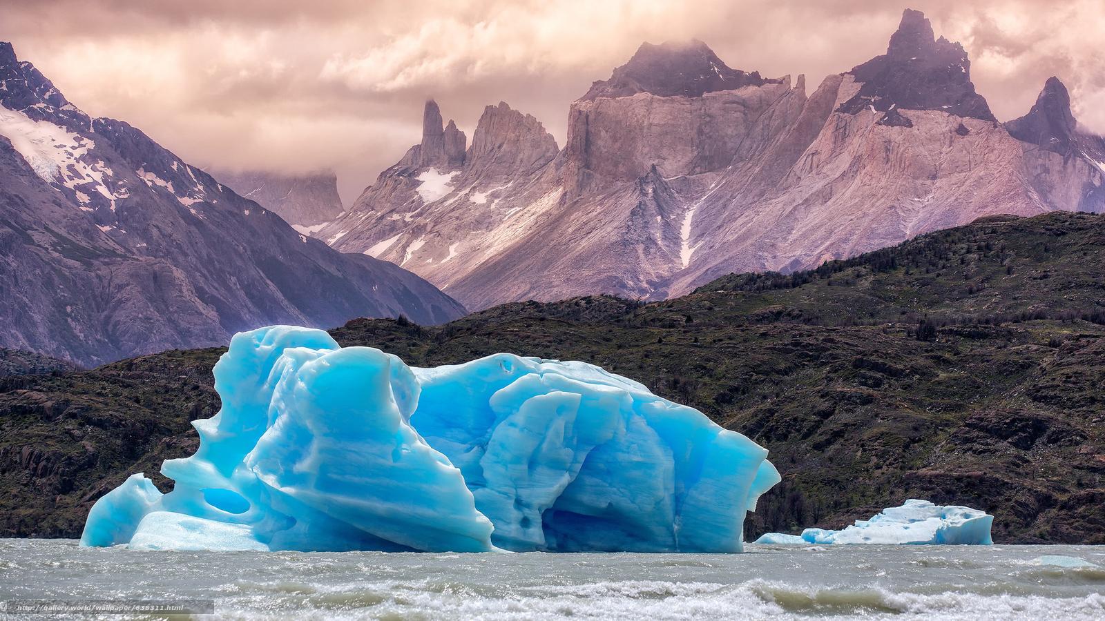 scaricare gli sfondi gelato,  lastra di ghiaccio galleggiante,  ghiacciaio,  inverno Sfondi gratis per la risoluzione del desktop 2048x1152 — immagine №638311
