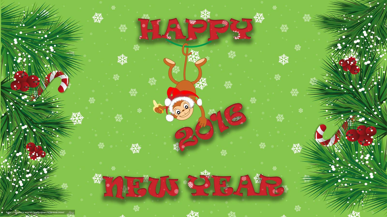 Descargar gratis Año Nuevo,  2016,  fiesta,  fecha Fondos de escritorio en la resolucin 1920x1080 — imagen №638468