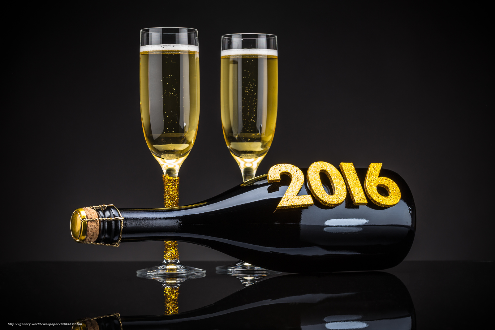 Download wallpaper New Year,  2016,  holiday,  date free desktop wallpaper in the resolution 4632x3088 — picture №638507