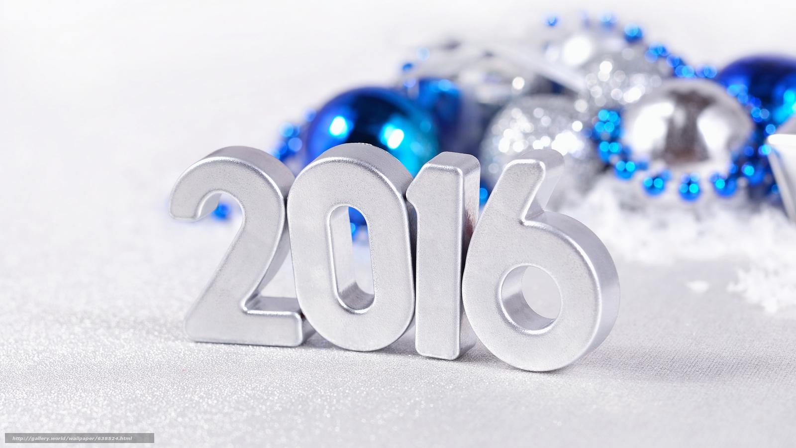 Descargar gratis Año Nuevo,  2016,  fiesta,  fecha Fondos de escritorio en la resolucin 7680x4320 — imagen №638524