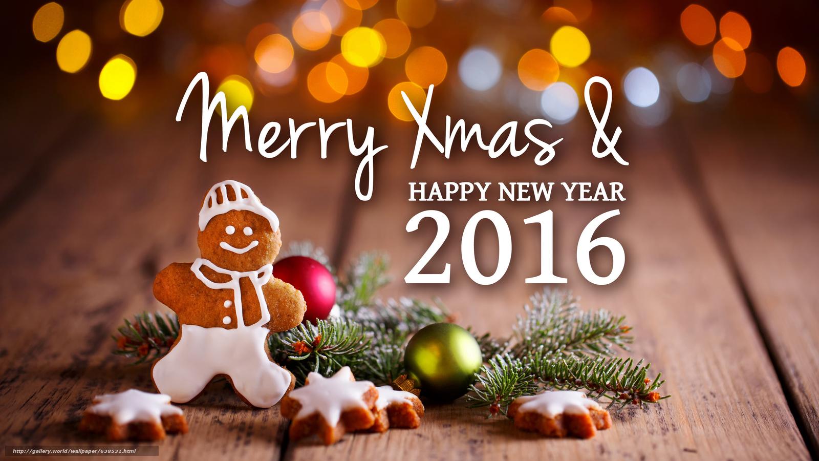 Descargar gratis Año Nuevo,  2016,  fiesta,  fecha Fondos de escritorio en la resolucin 7680x4320 — imagen №638531