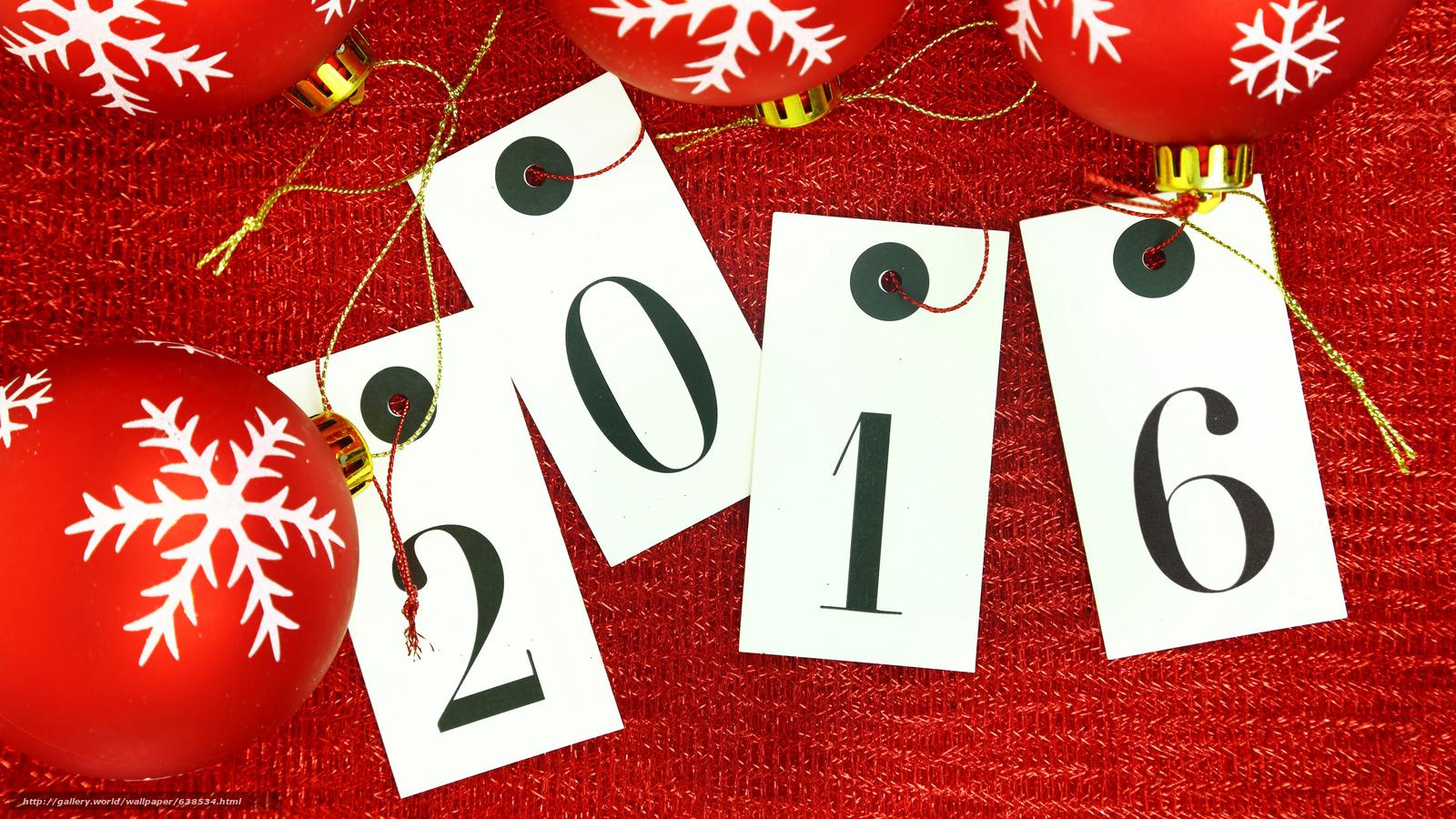 Descargar gratis Año Nuevo,  2016,  fiesta,  fecha Fondos de escritorio en la resolucin 7680x4320 — imagen №638534
