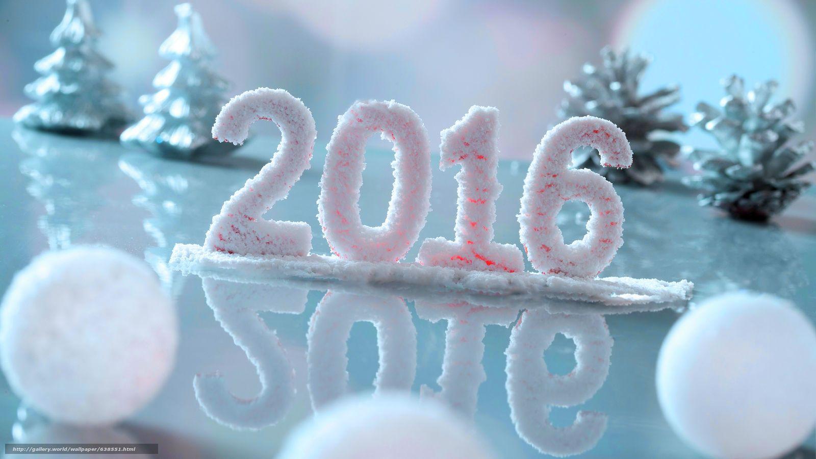 Descargar gratis Año Nuevo,  2016,  fiesta,  fecha Fondos de escritorio en la resolucin 7680x4320 — imagen №638551