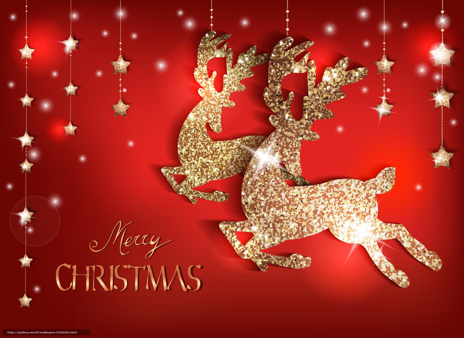 Frohe Weihnachten Download.Download Hintergrund Frohe Weihnachten Christmas Wallpaper Hirsch