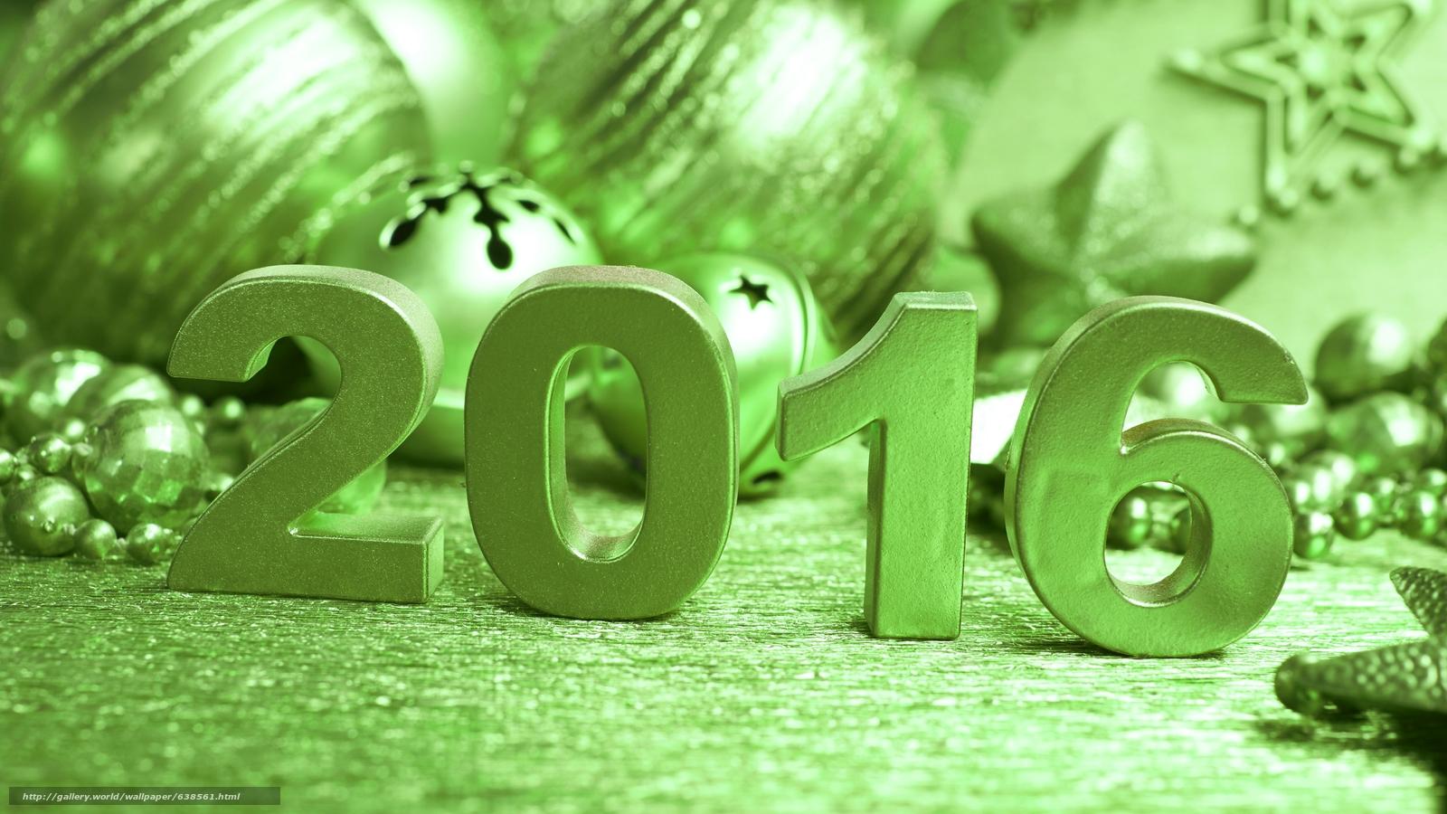 Descargar gratis Año Nuevo,  2016,  fiesta,  fecha Fondos de escritorio en la resolucin 7680x4320 — imagen №638561