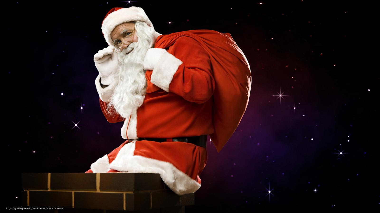 Baixar Wallpaper Papai Noel,  Papai Noel,  Ano Novo,  Natal Papis de parede grtis na resoluo 2048x1152 — quadro №638616