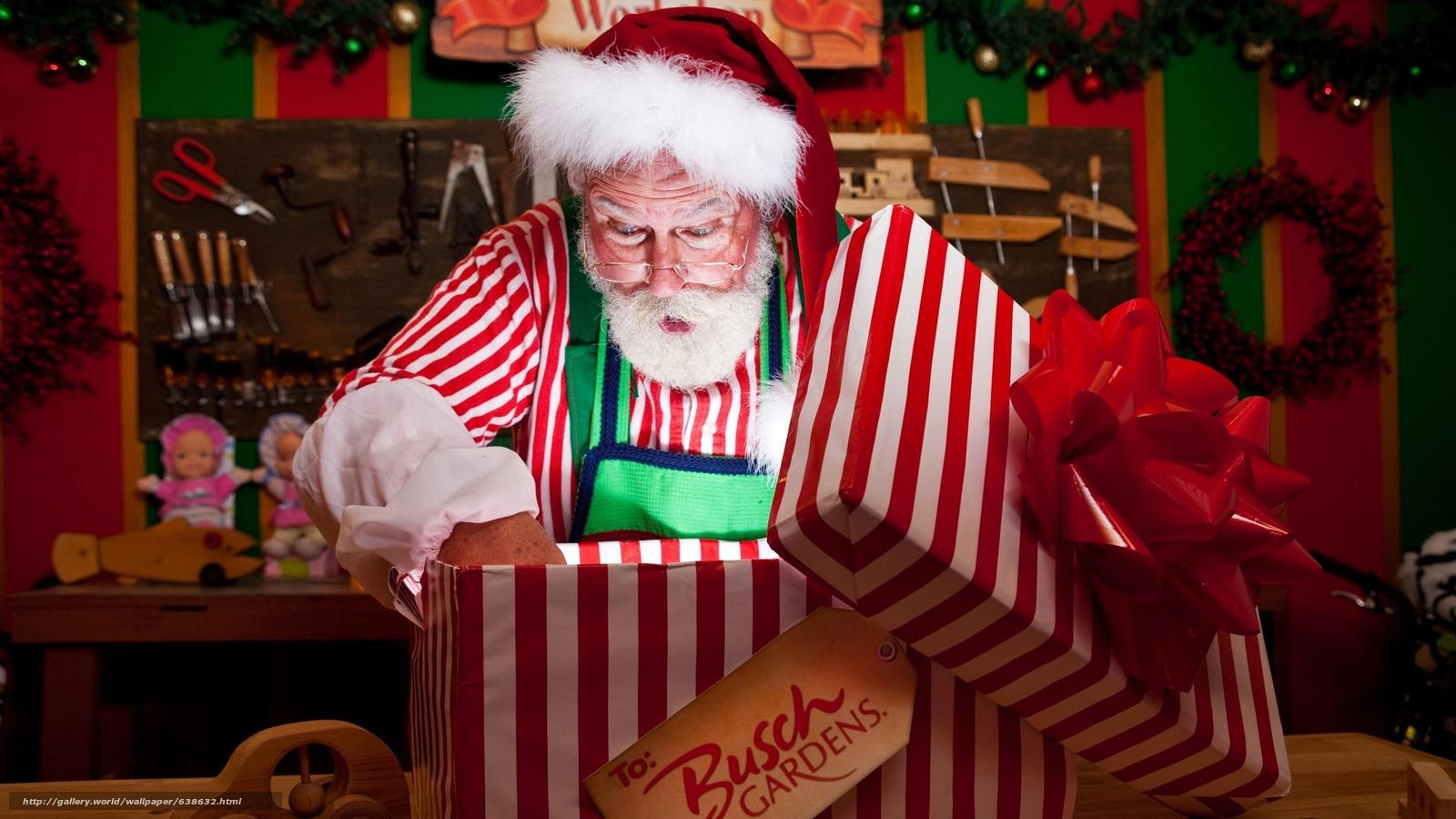 Descargar gratis Papá Noel,  Papá Noel,  Año Nuevo,  Navidad Fondos de escritorio en la resolucin 2560x1440 — imagen №638632
